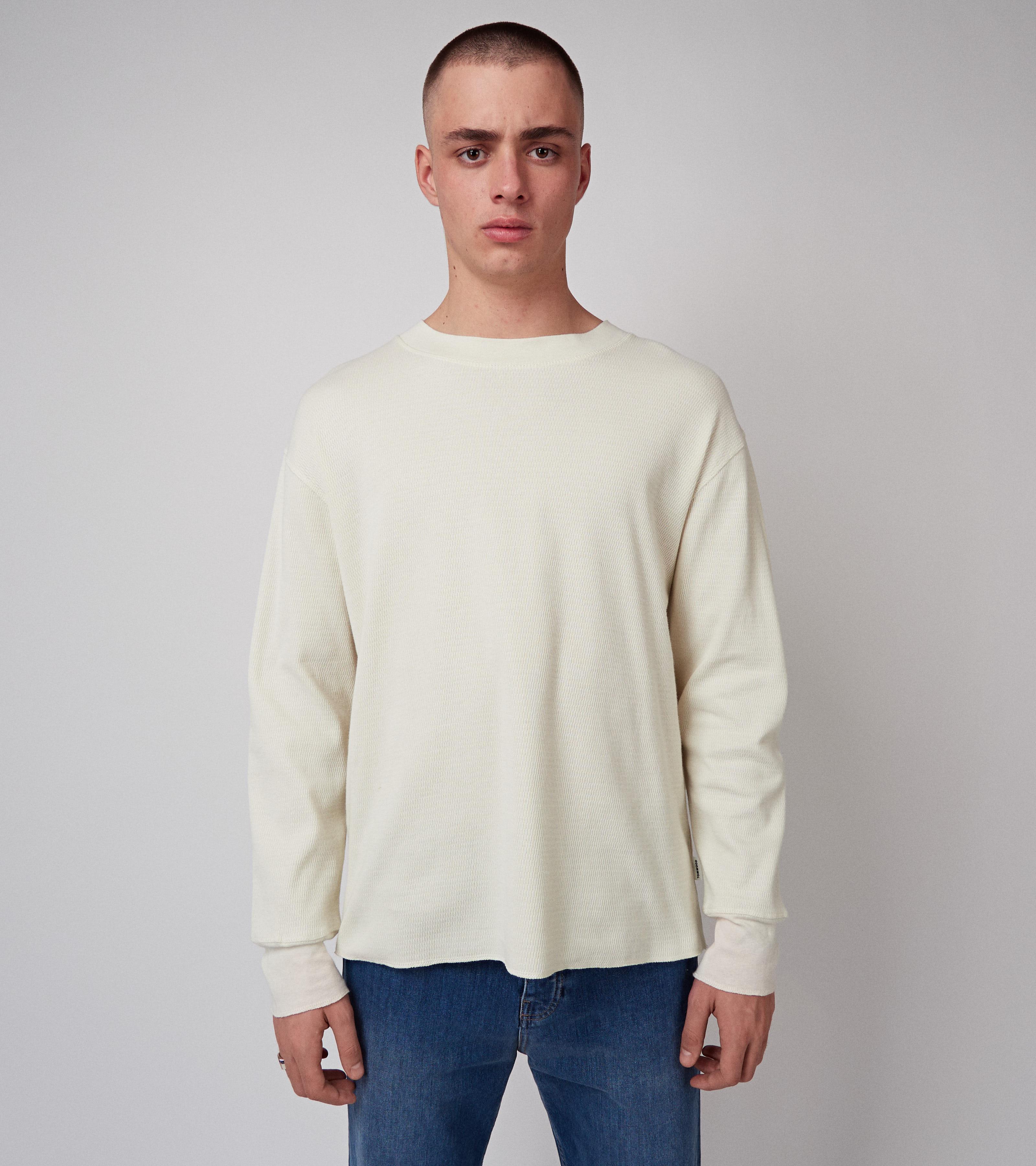 Moss Long Sleeve Vanilla White