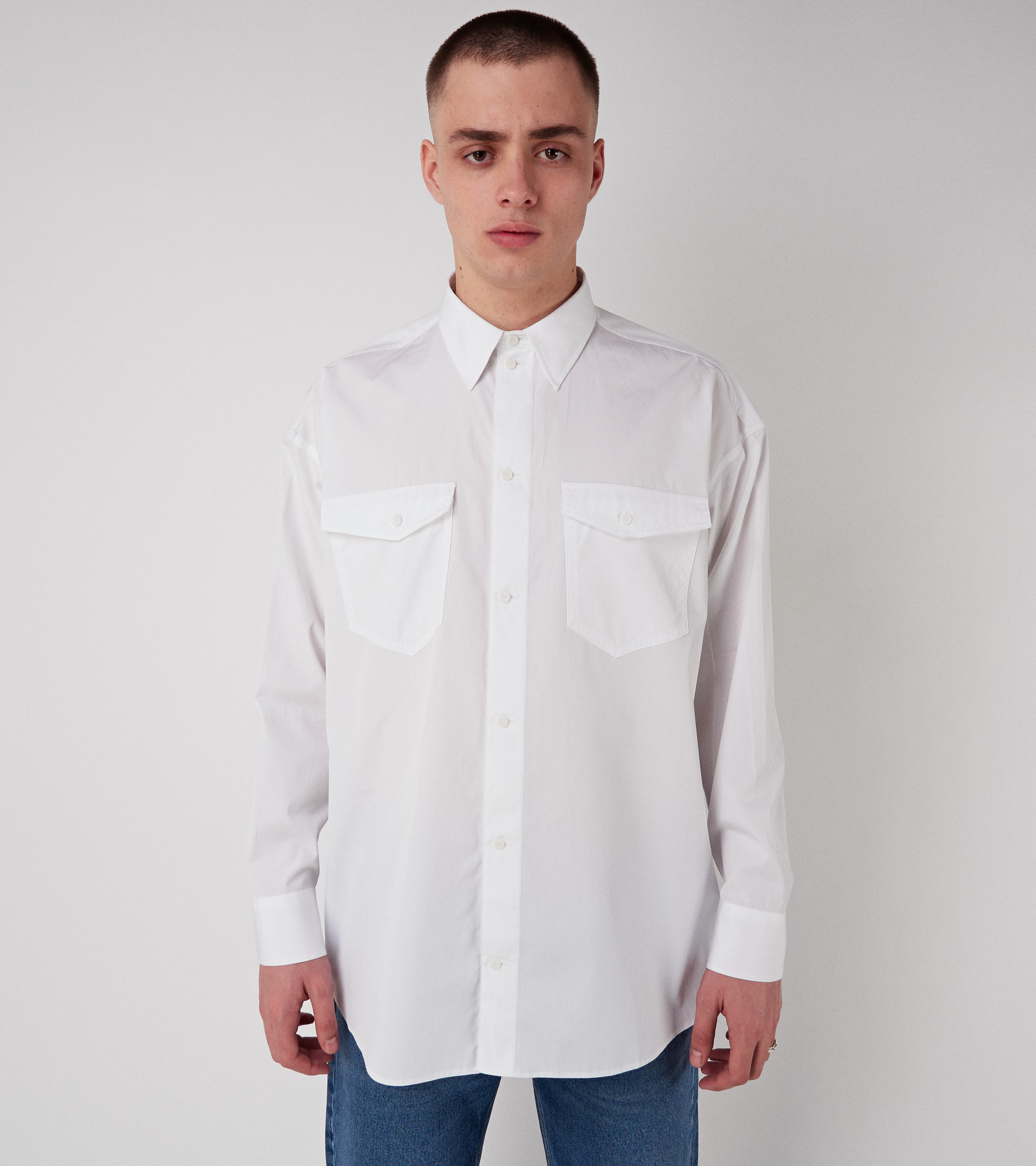 Sonny Long Shirt Vintage White