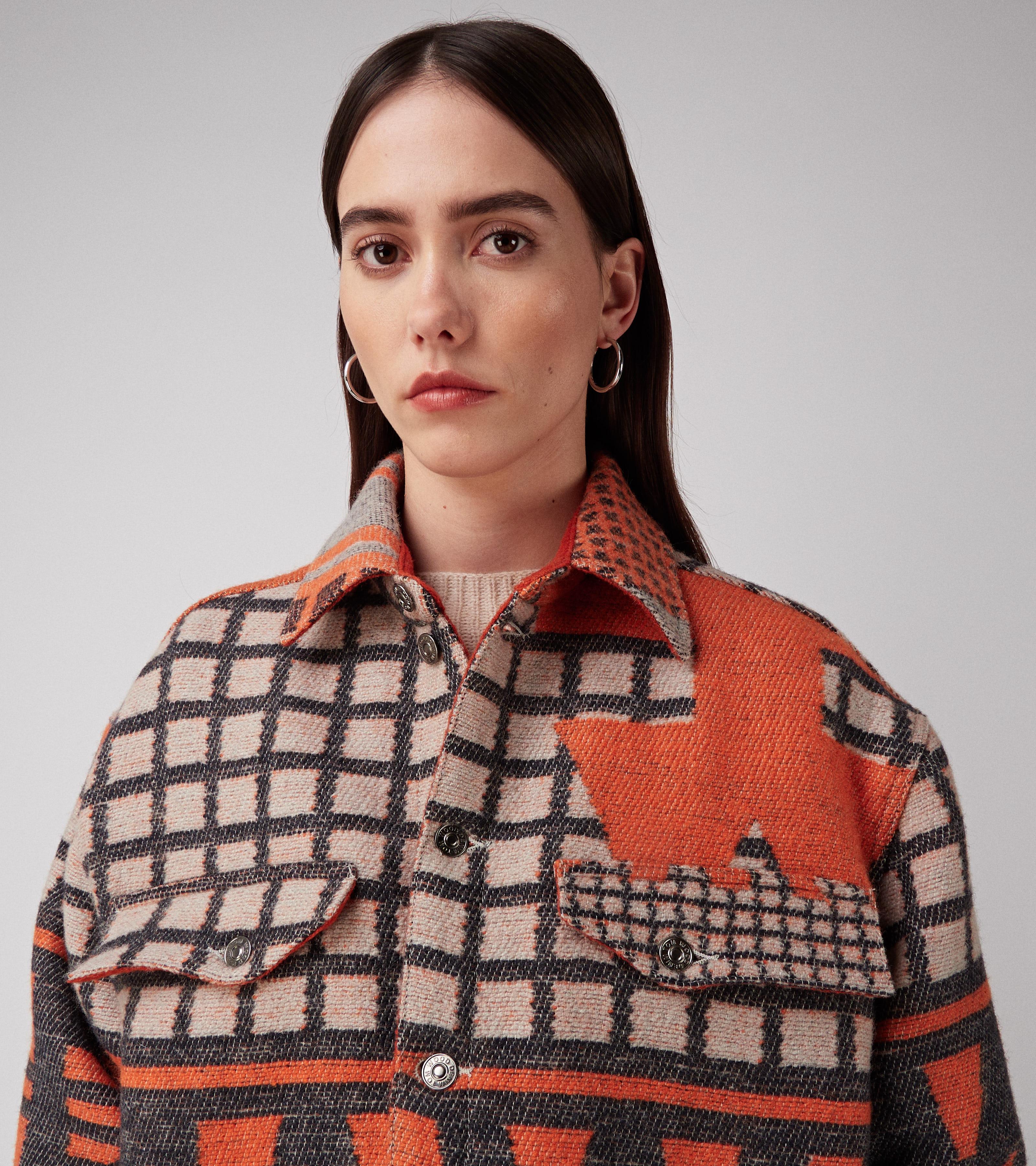 Heritage Shirt Multi Orange