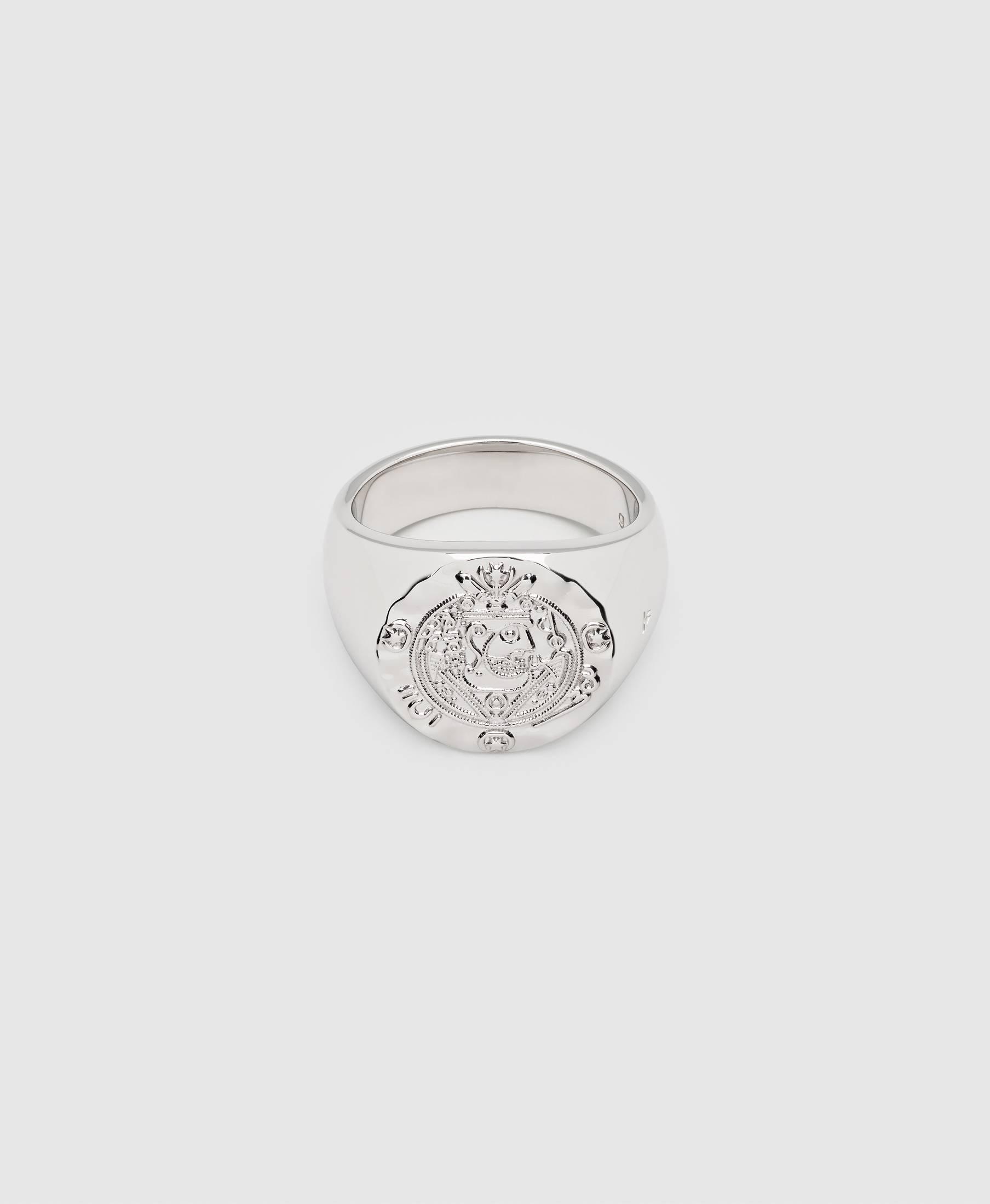 Silk Coin Ring