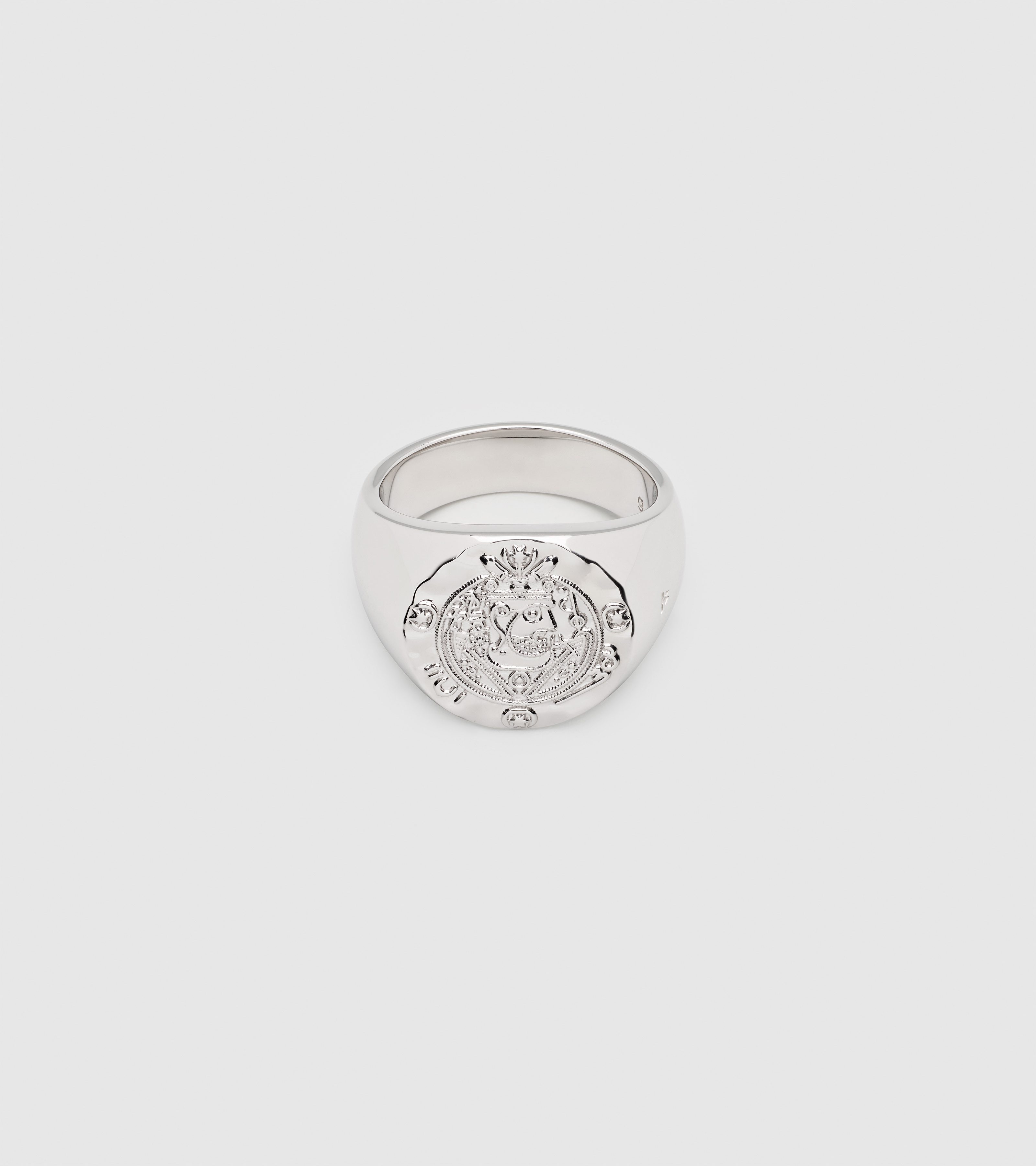 Silk Coin Ring