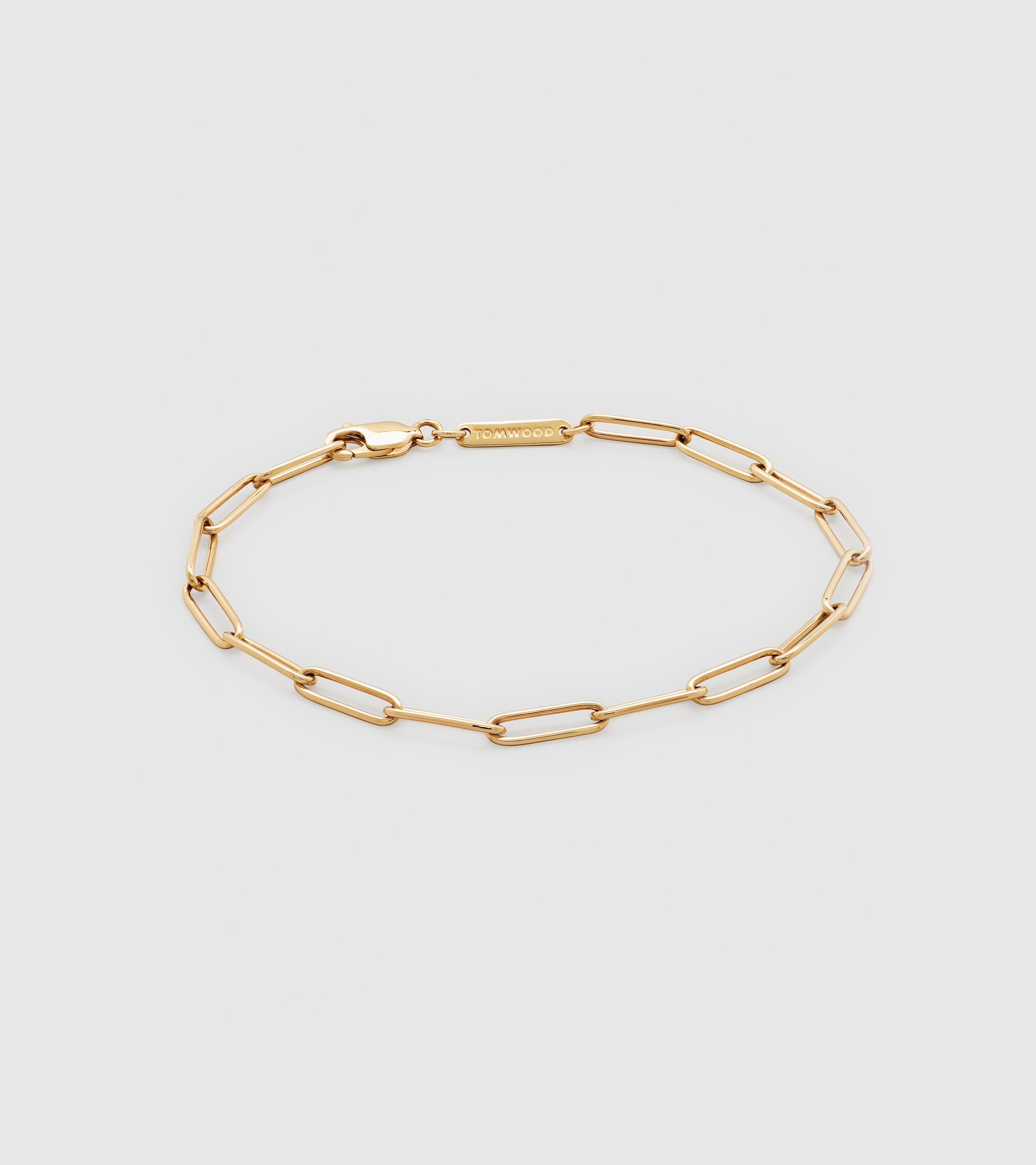 Box Bracelet Gold