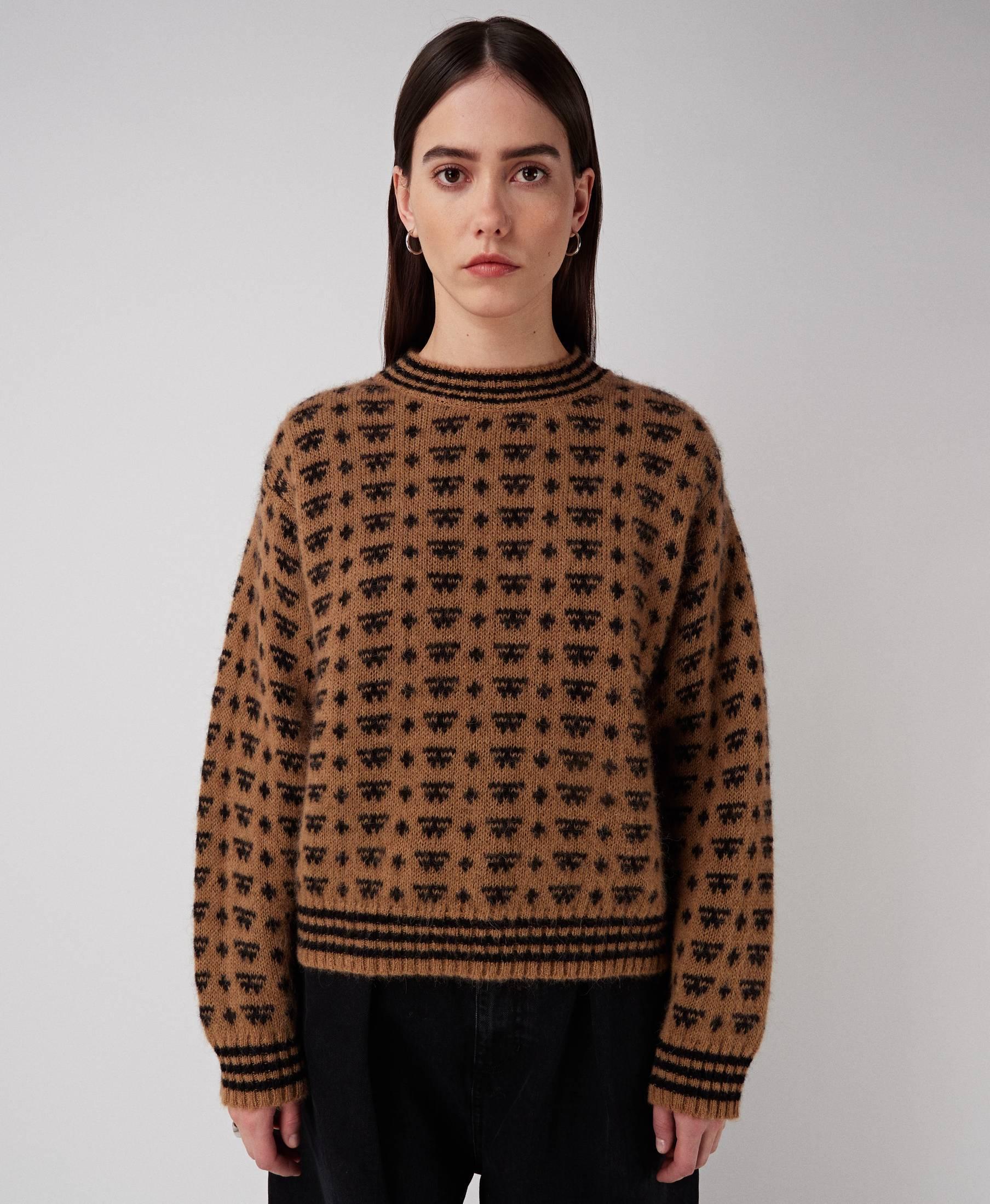 Jane Knit Camel