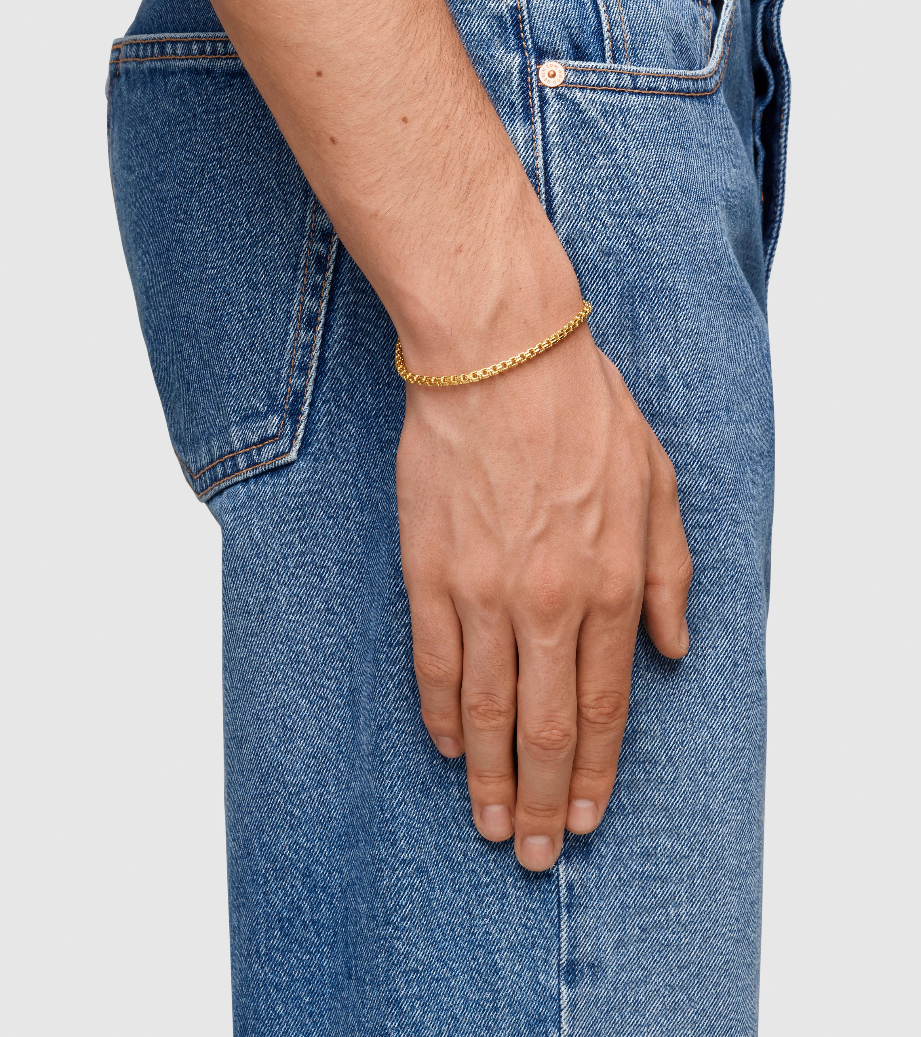 Venetian Bracelet Double M Gold