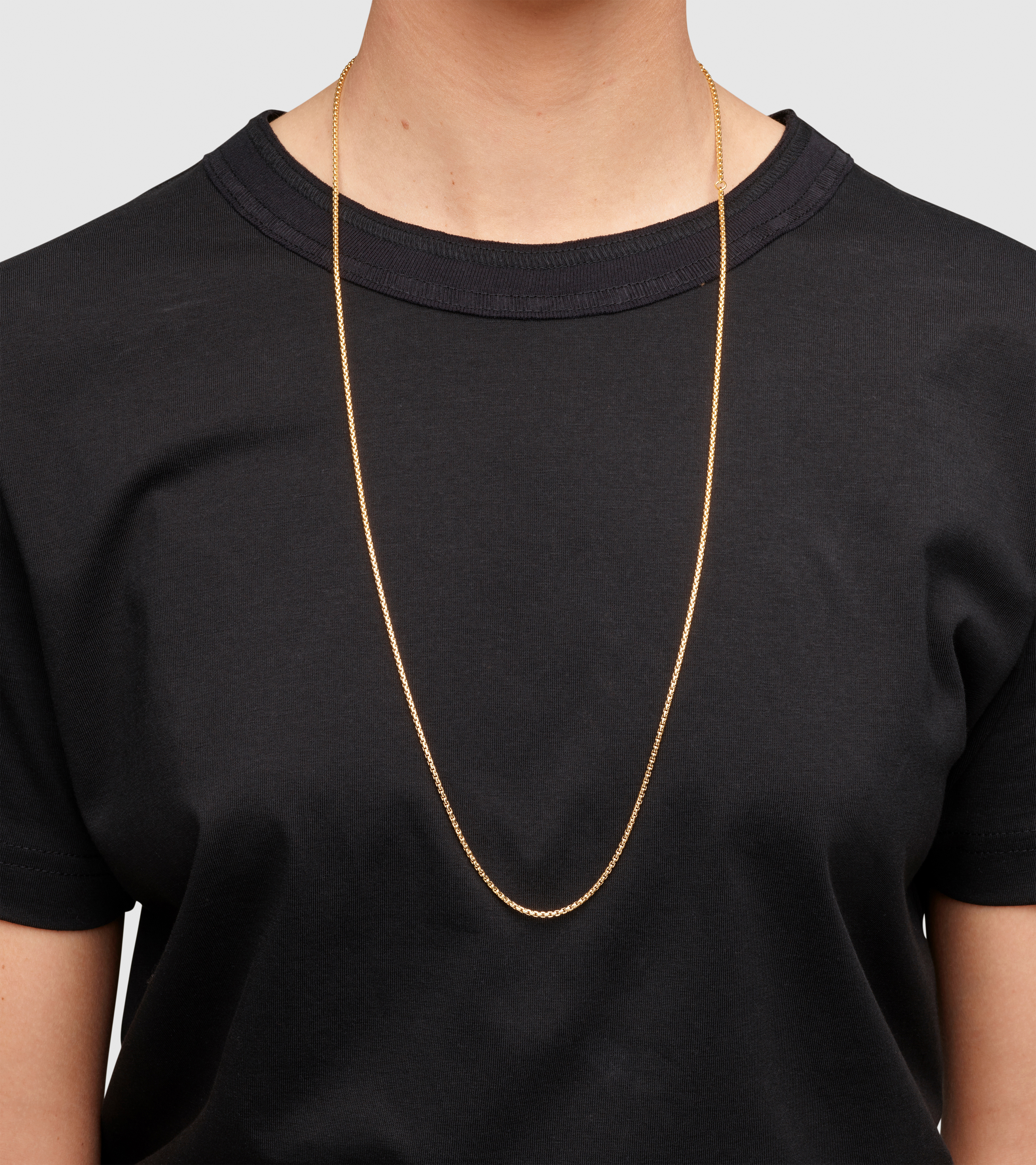 Venetian Chain Single S Gold