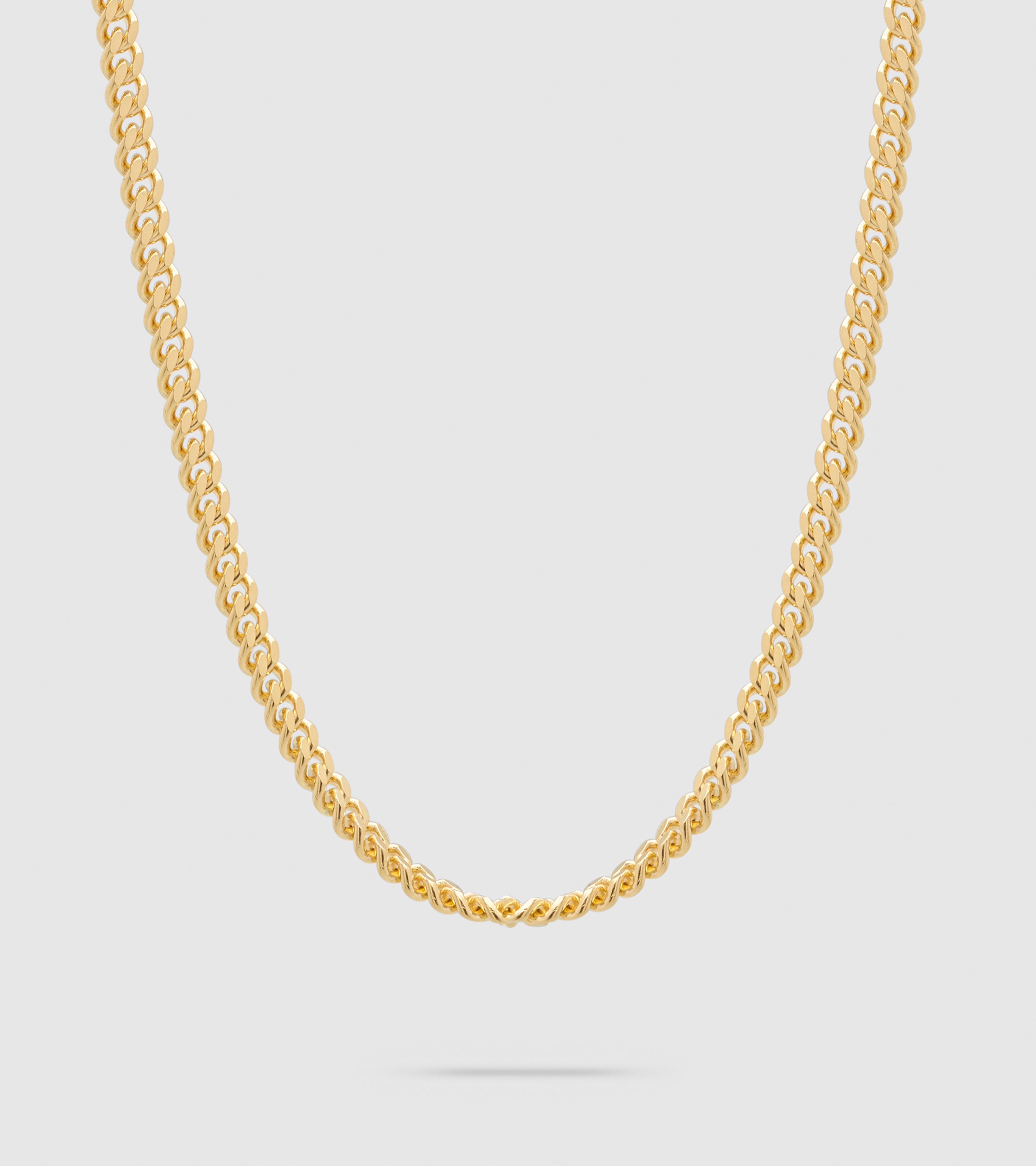 Curb Chain L Gold