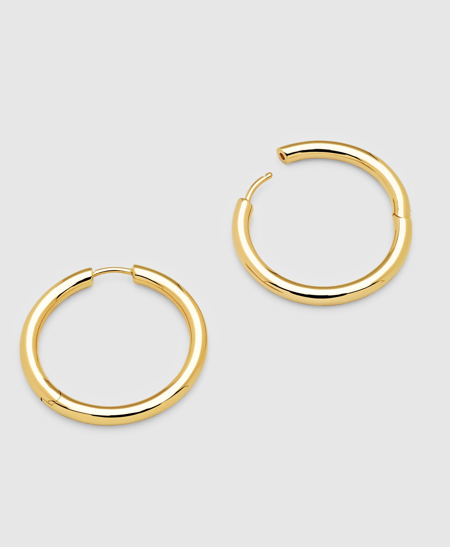 Classic Hoops Large Gold