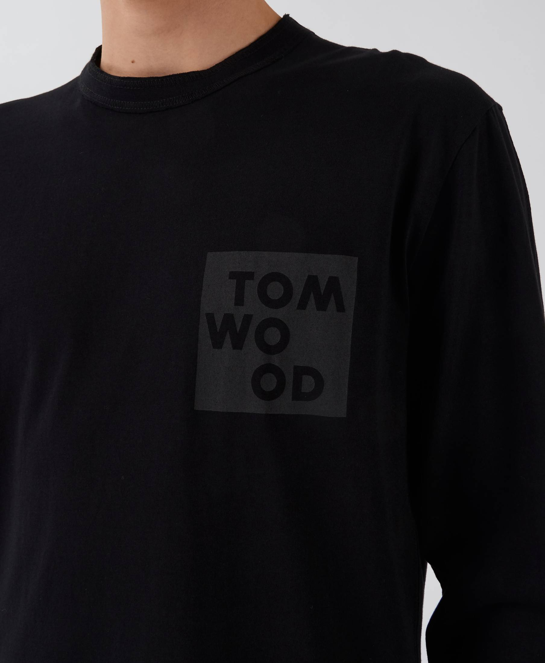 Dan Long Sleeve Logo Pistol Black