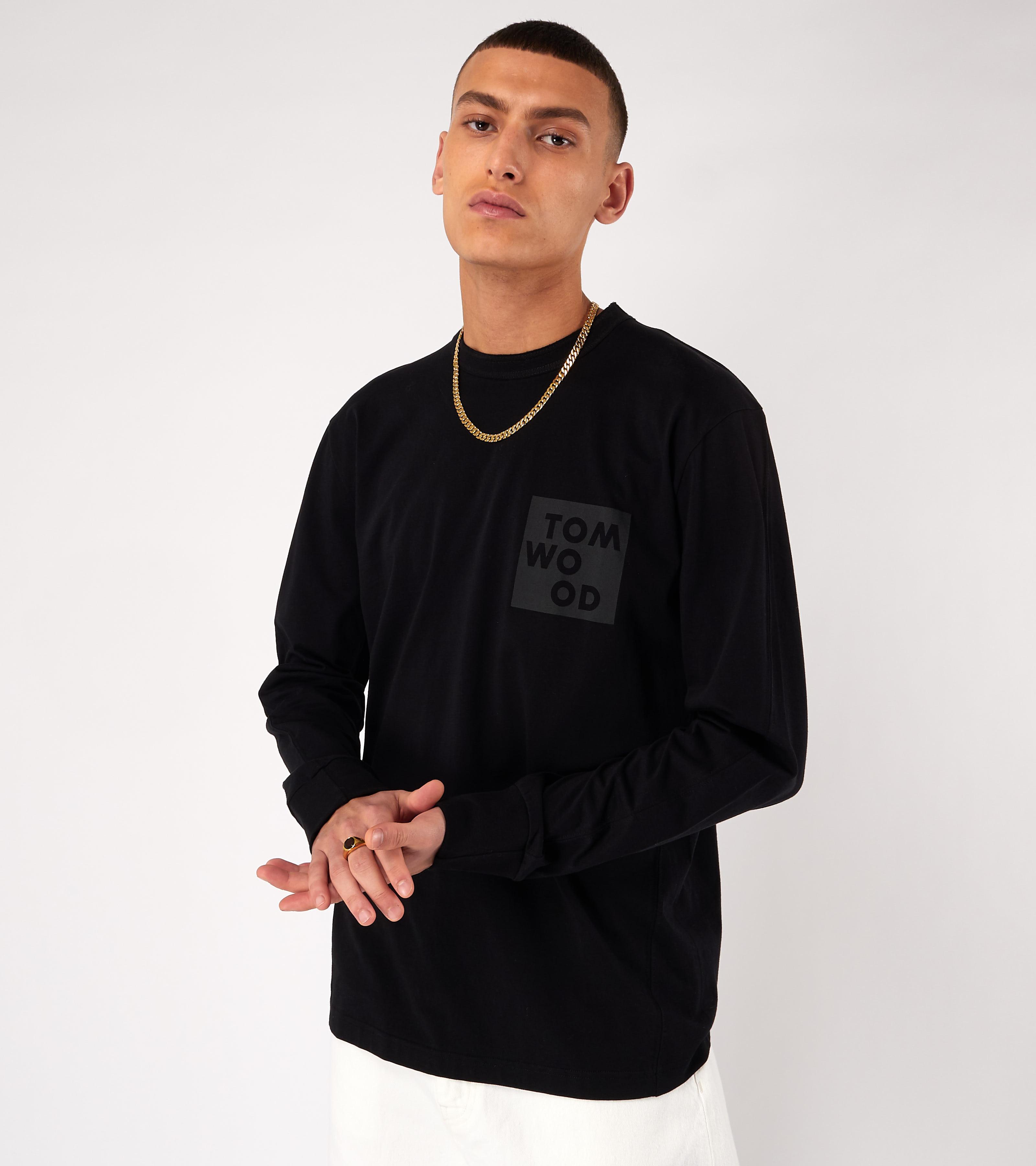 Dan Long Sleeve Logo Pistol Black