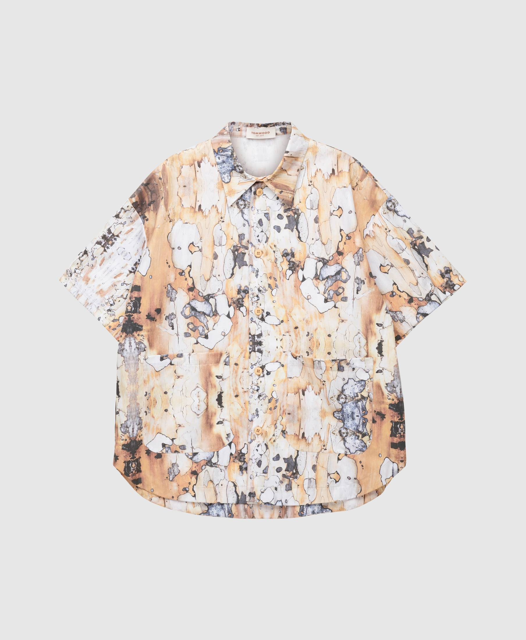 Stardust Shirt Earthy Marble