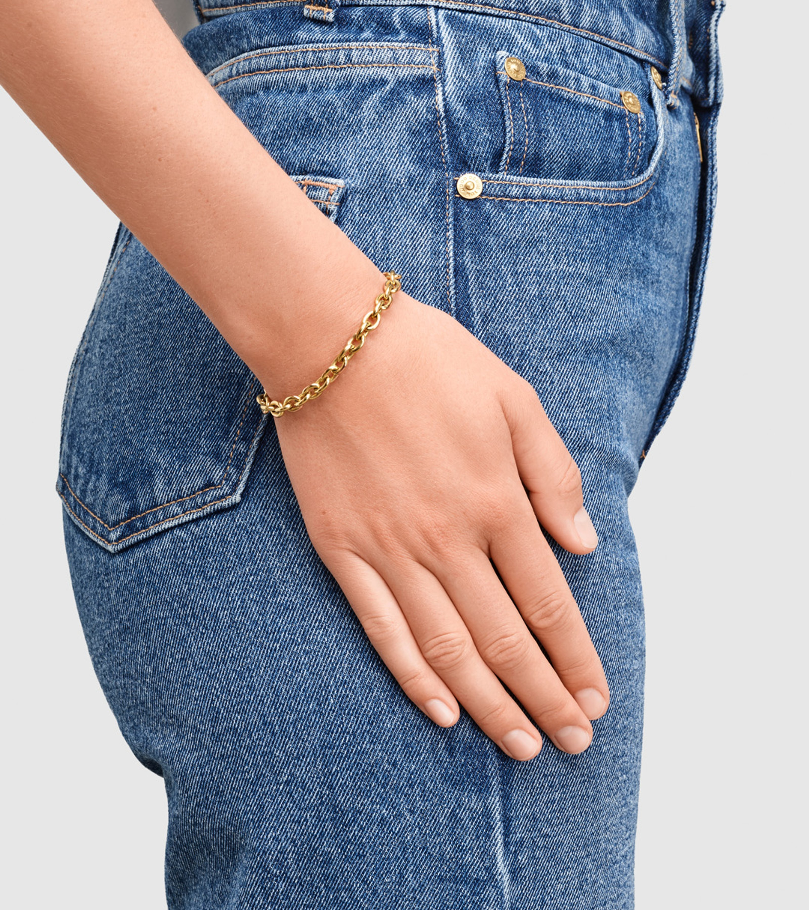 Ada Bracelet Thick Gold