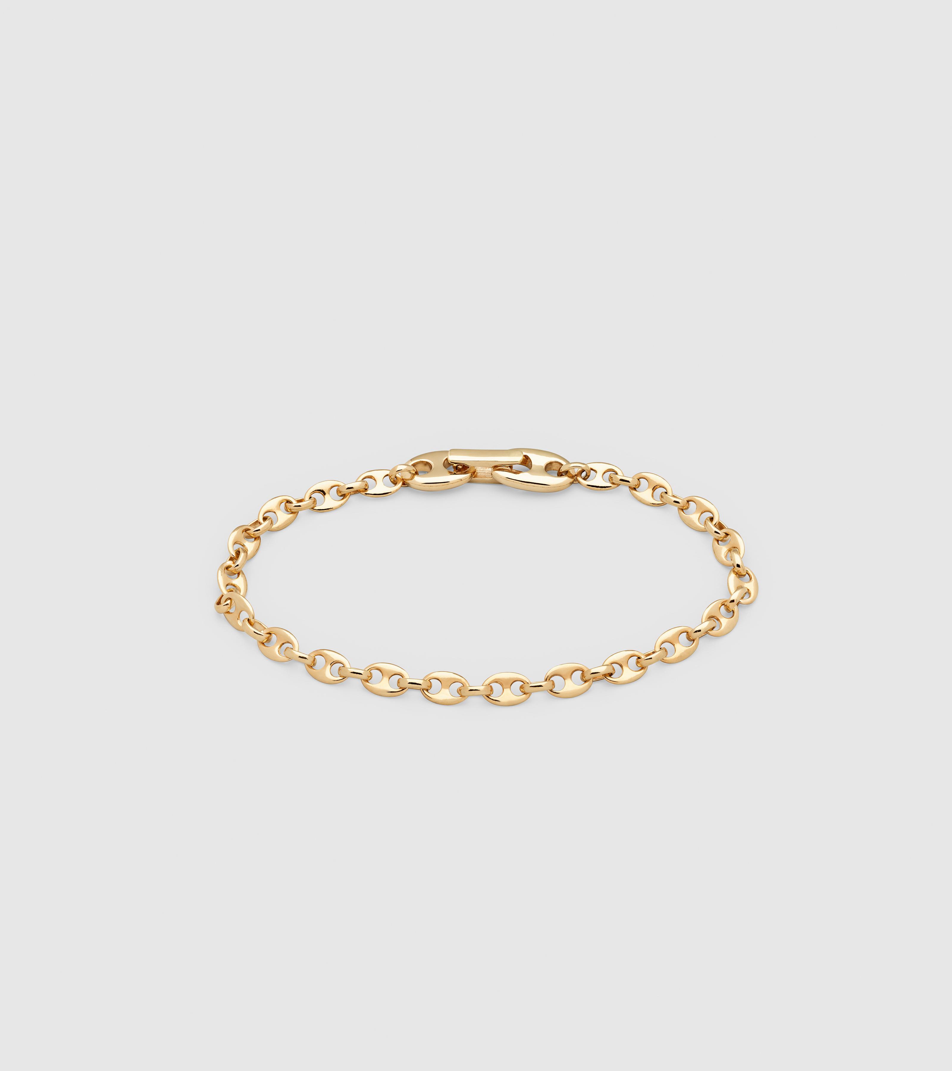 Bean Bracelet Gold