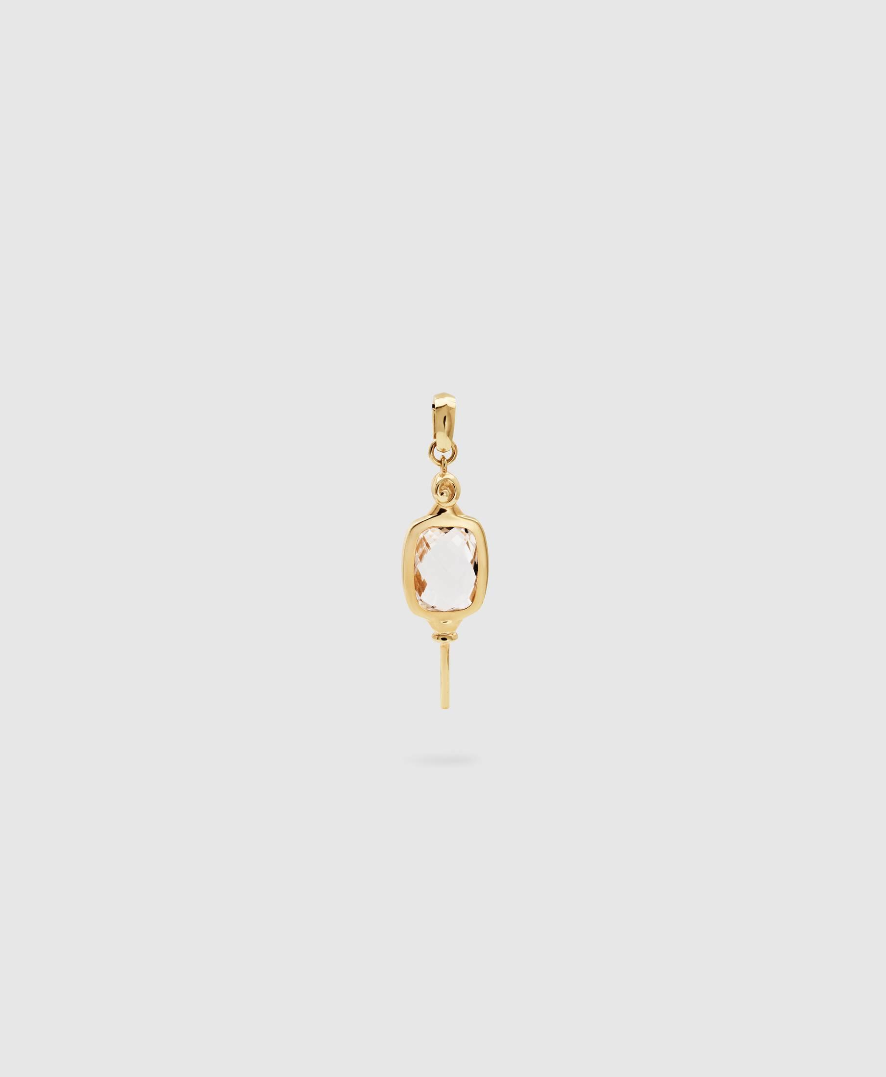 Pollys Key Crystal Gold