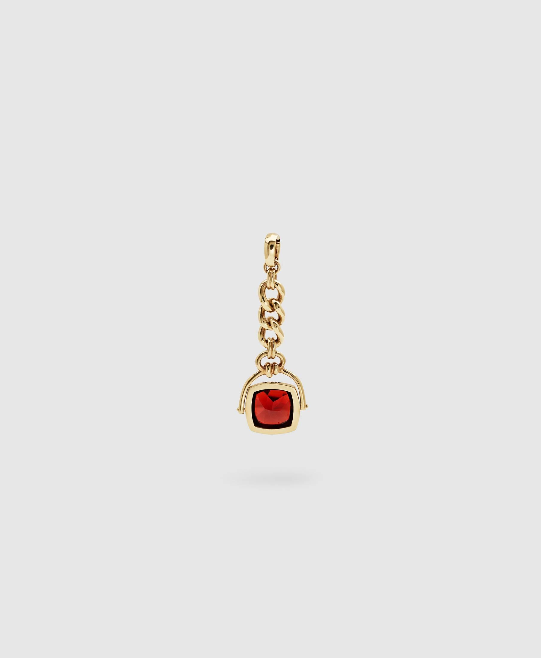 Thomas Seal Red Garnet Gold