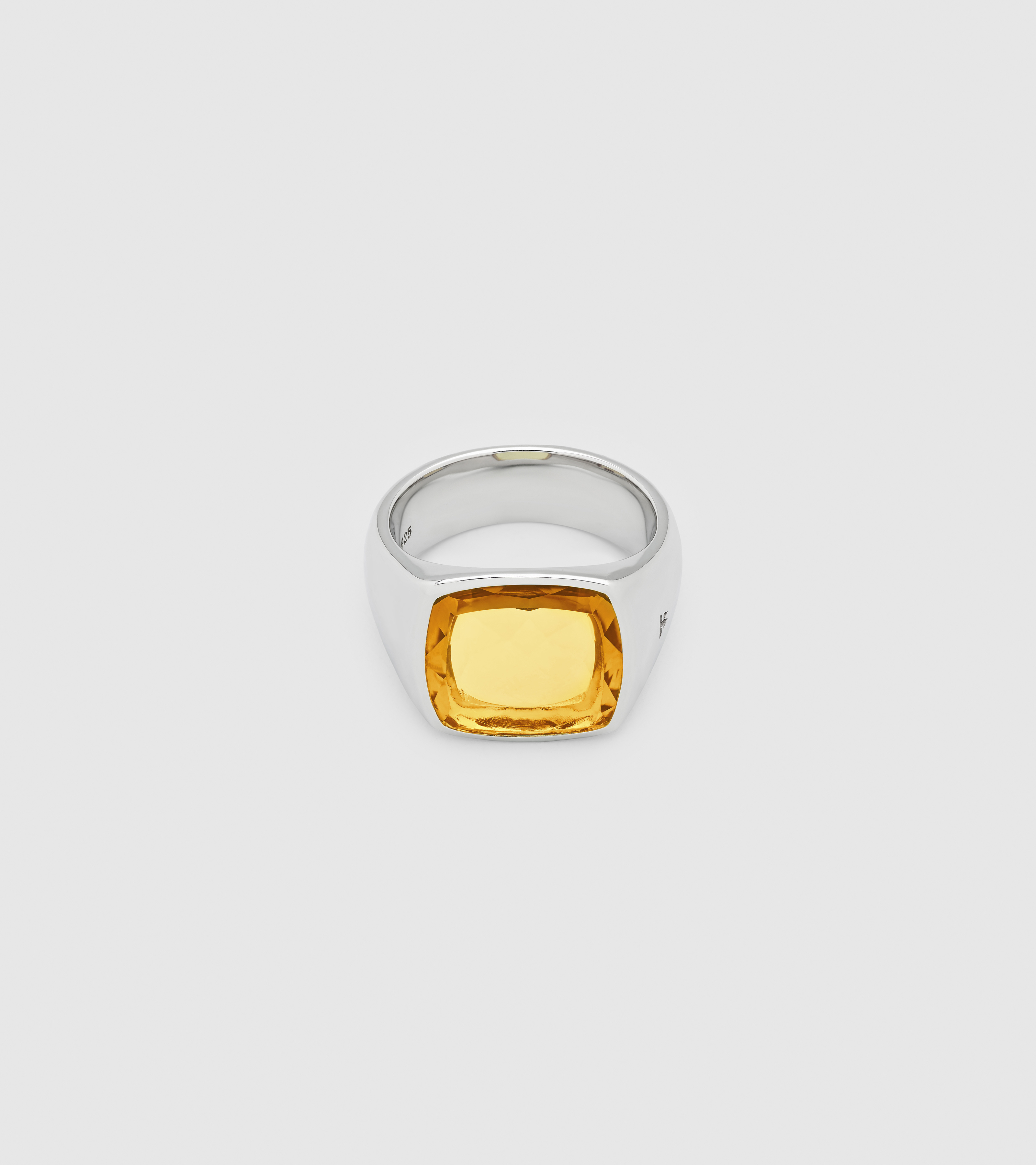 Shelby Ring Orange Amber