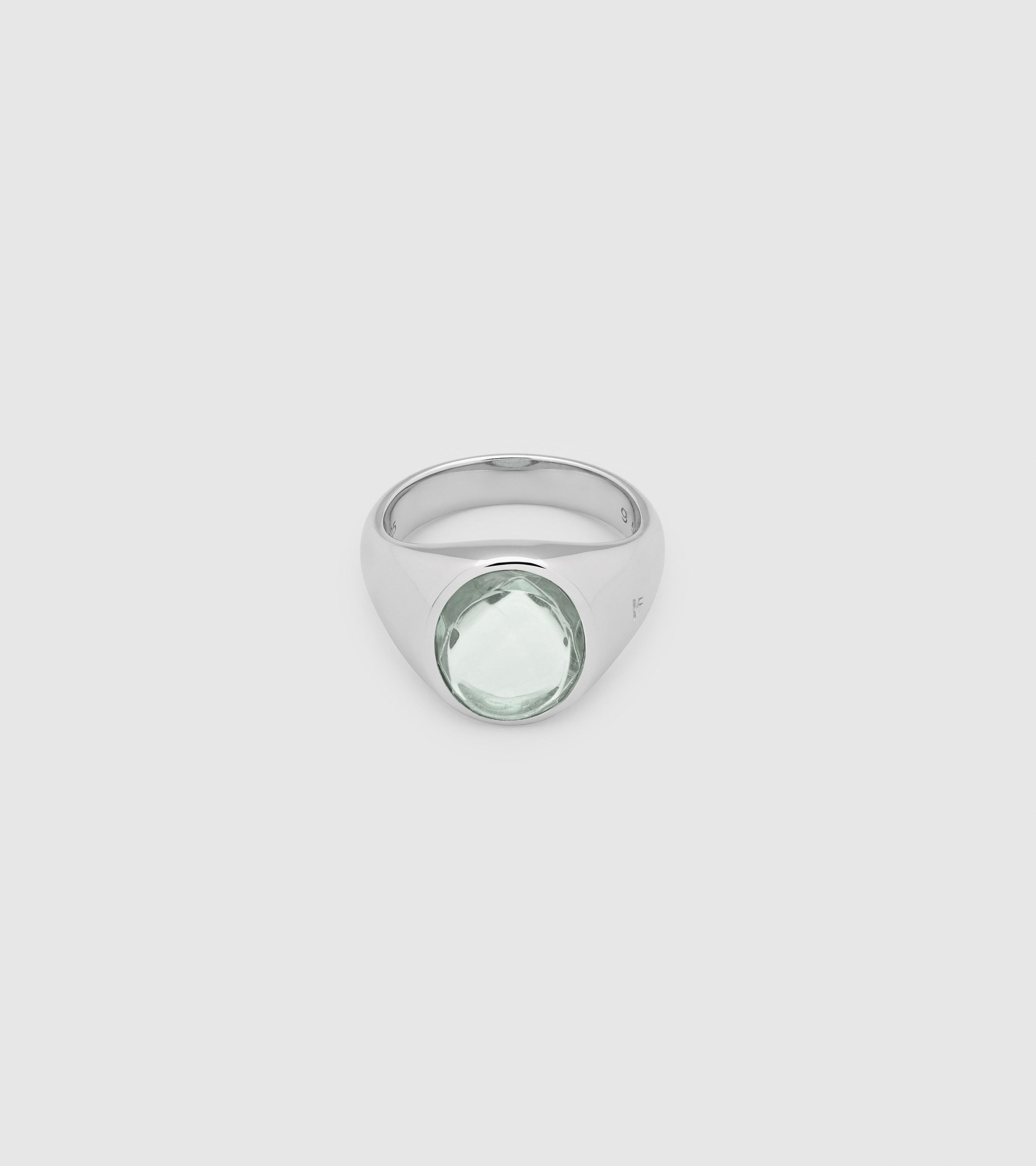 Lizzie Ring Green Quartz