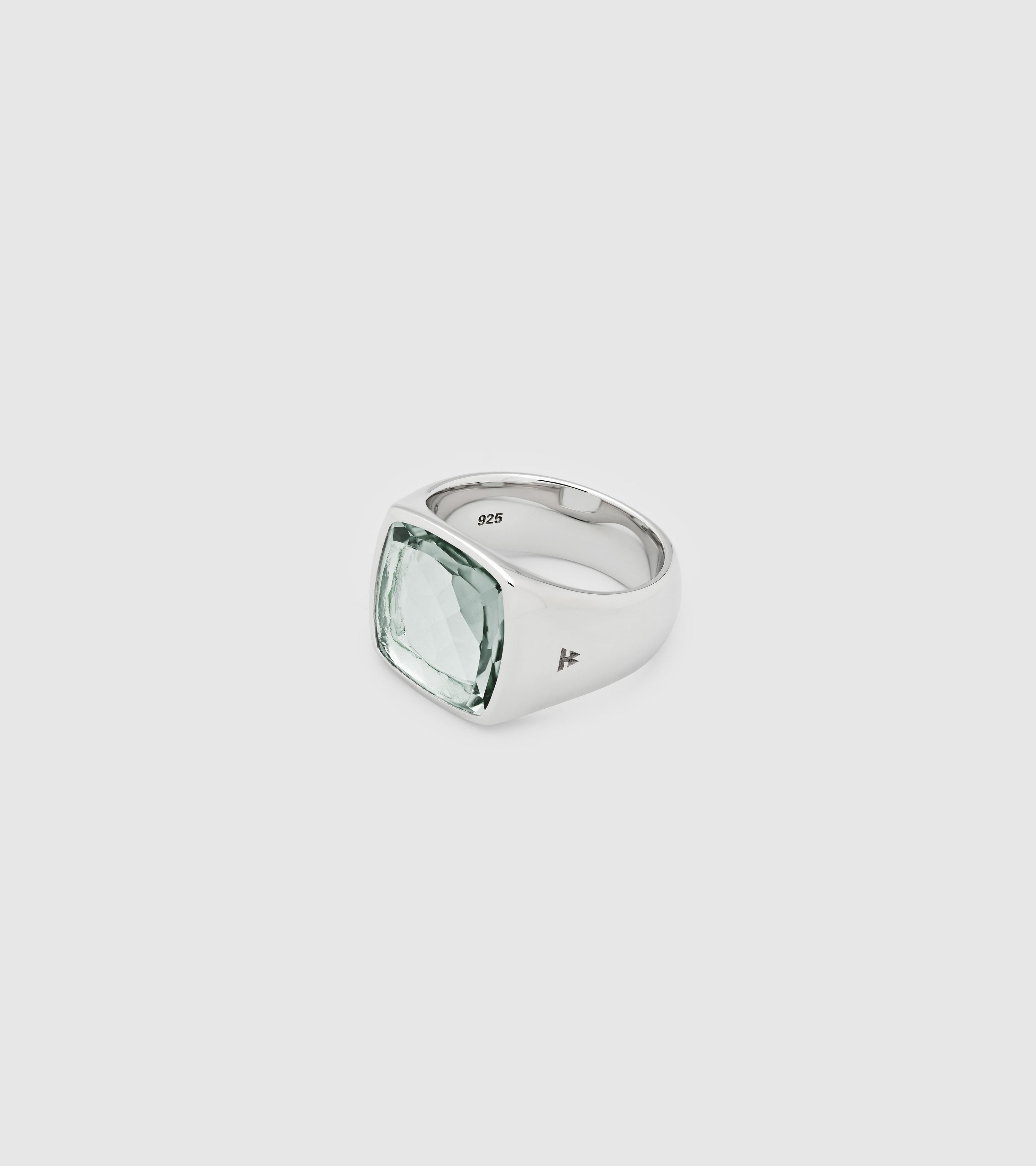 Shelby Ring Green Quartz