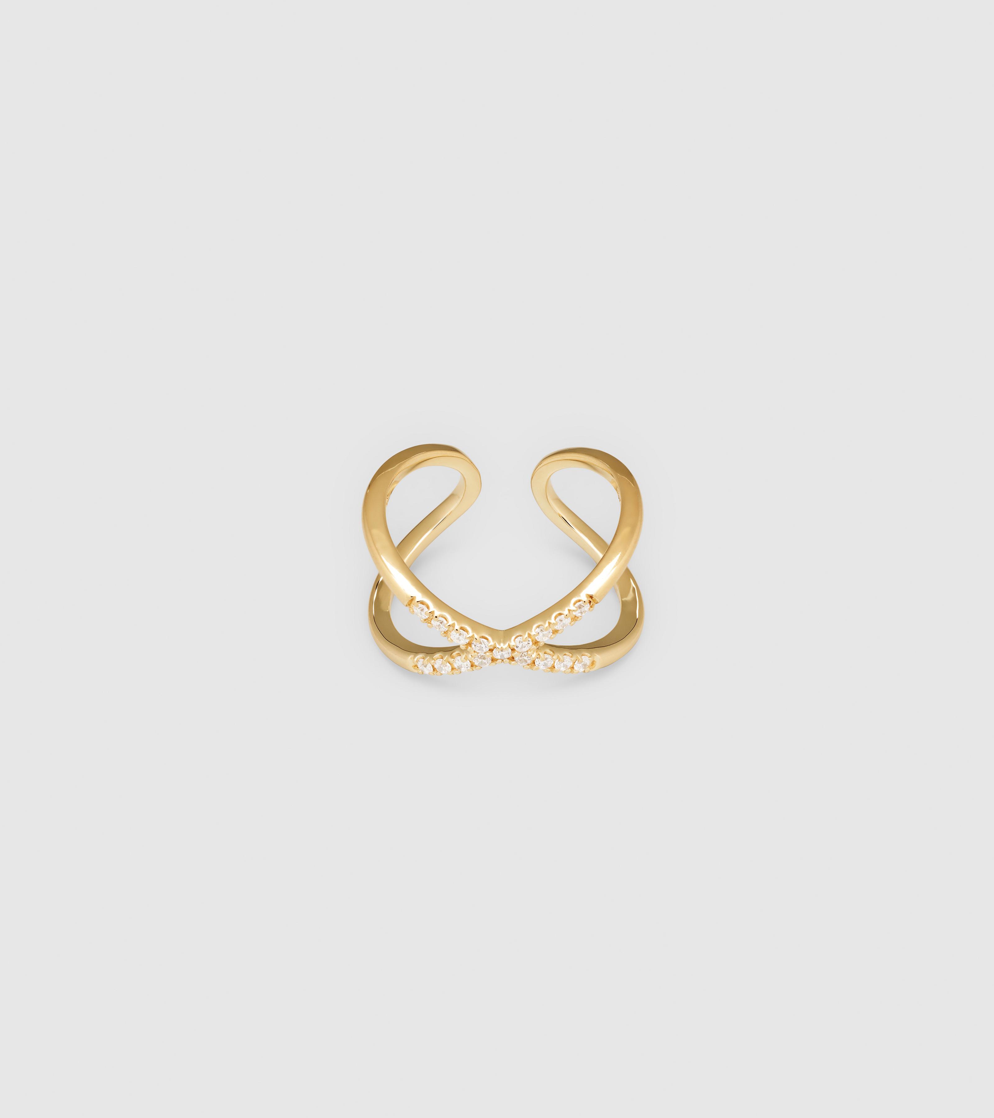 X Ring Zirconia Gold