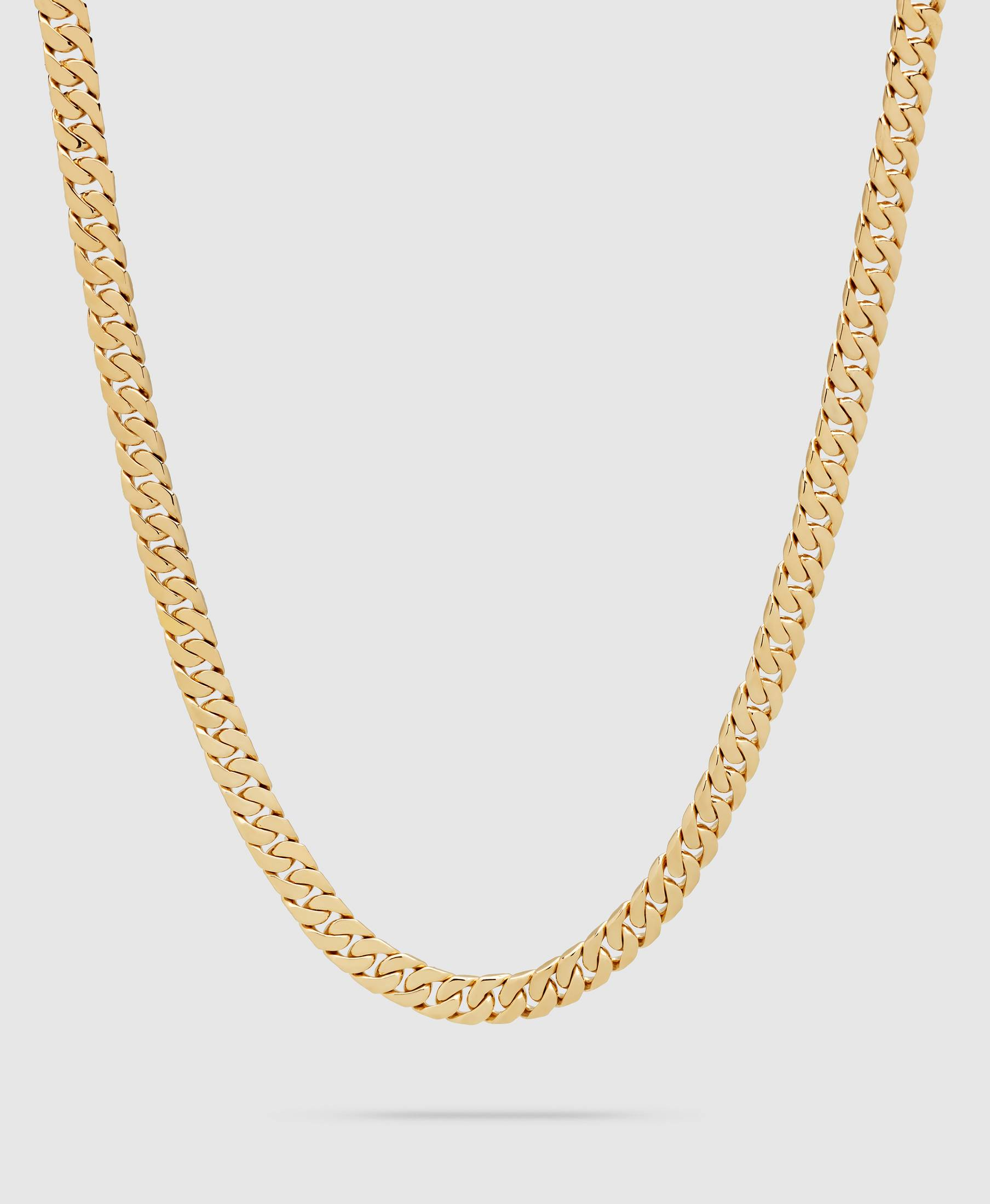 Curb 7 Chain Gold