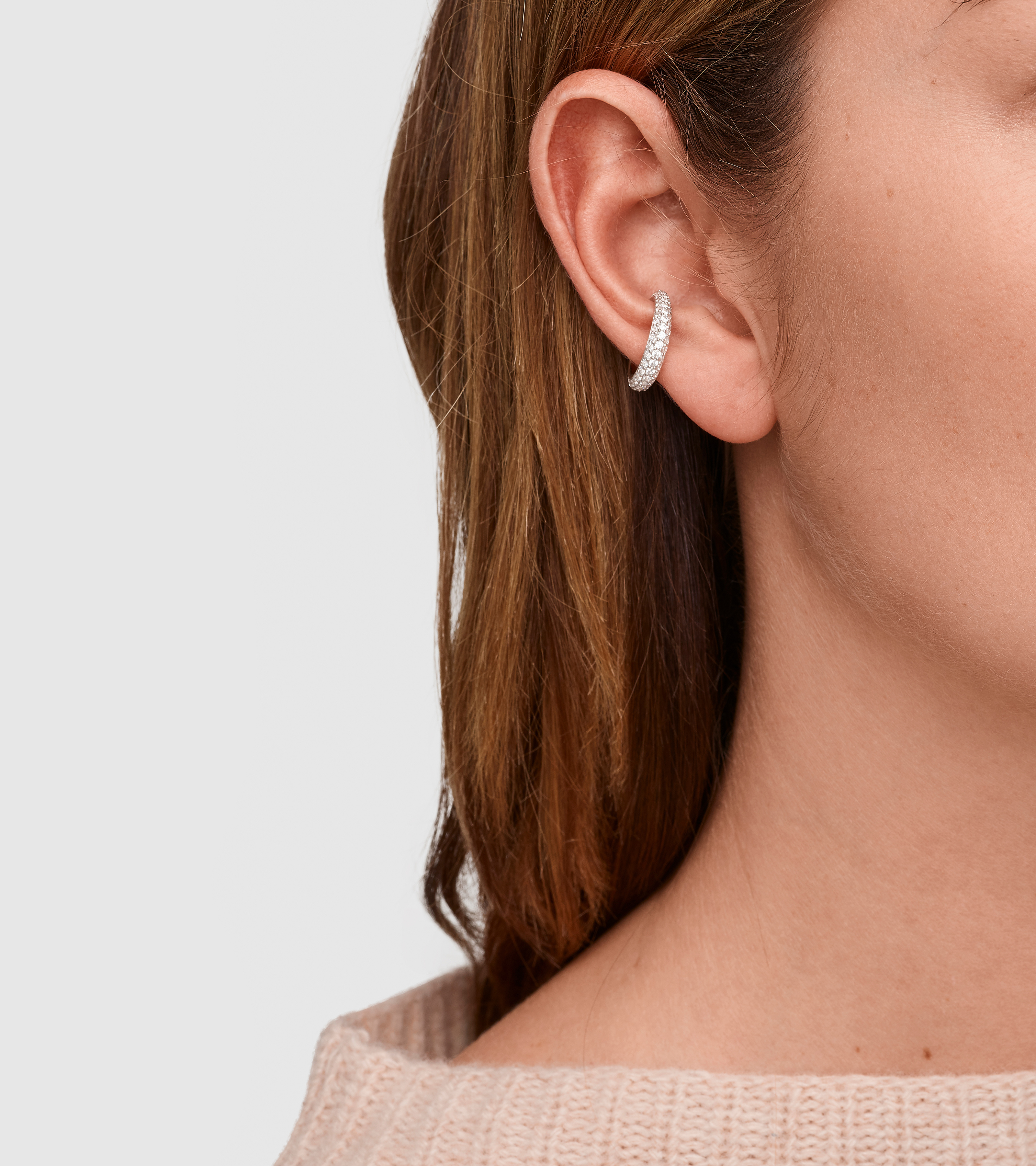 Ear Cuff Slim Zirconia