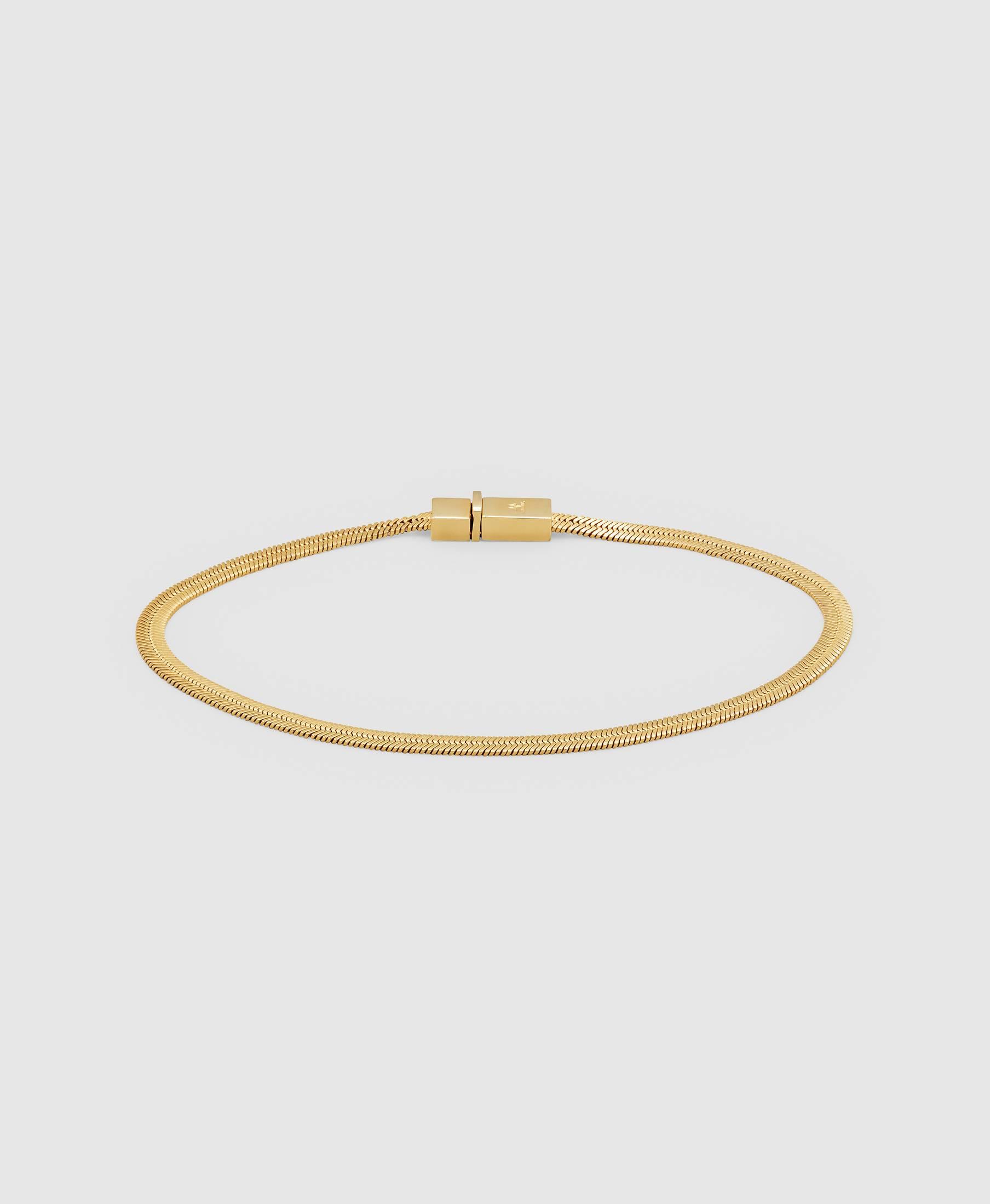 Herringbone Bracelet Gold