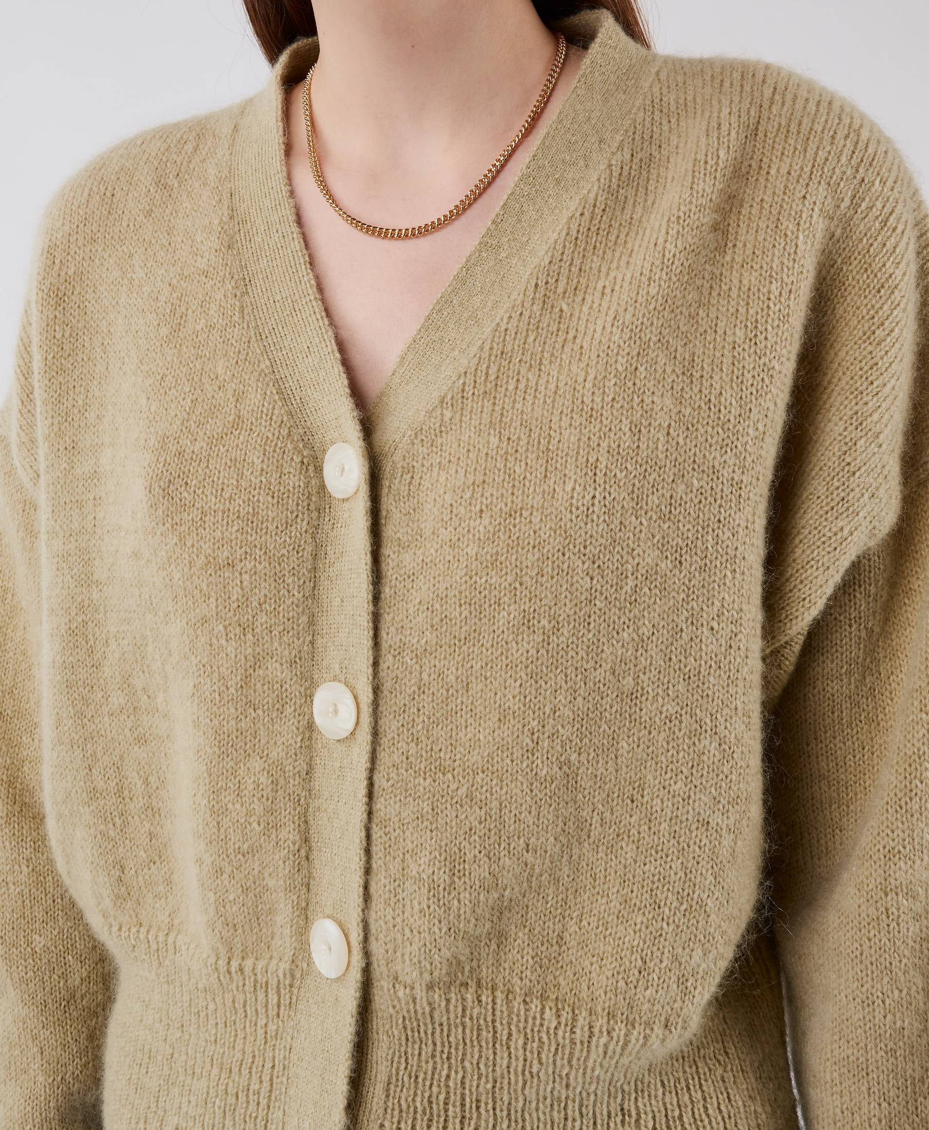 On and On Cardigan Pastel Green