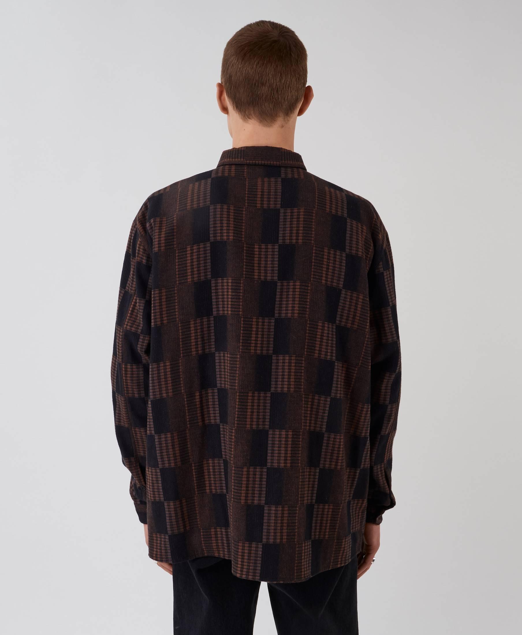 Penrose Shirt Brown Check