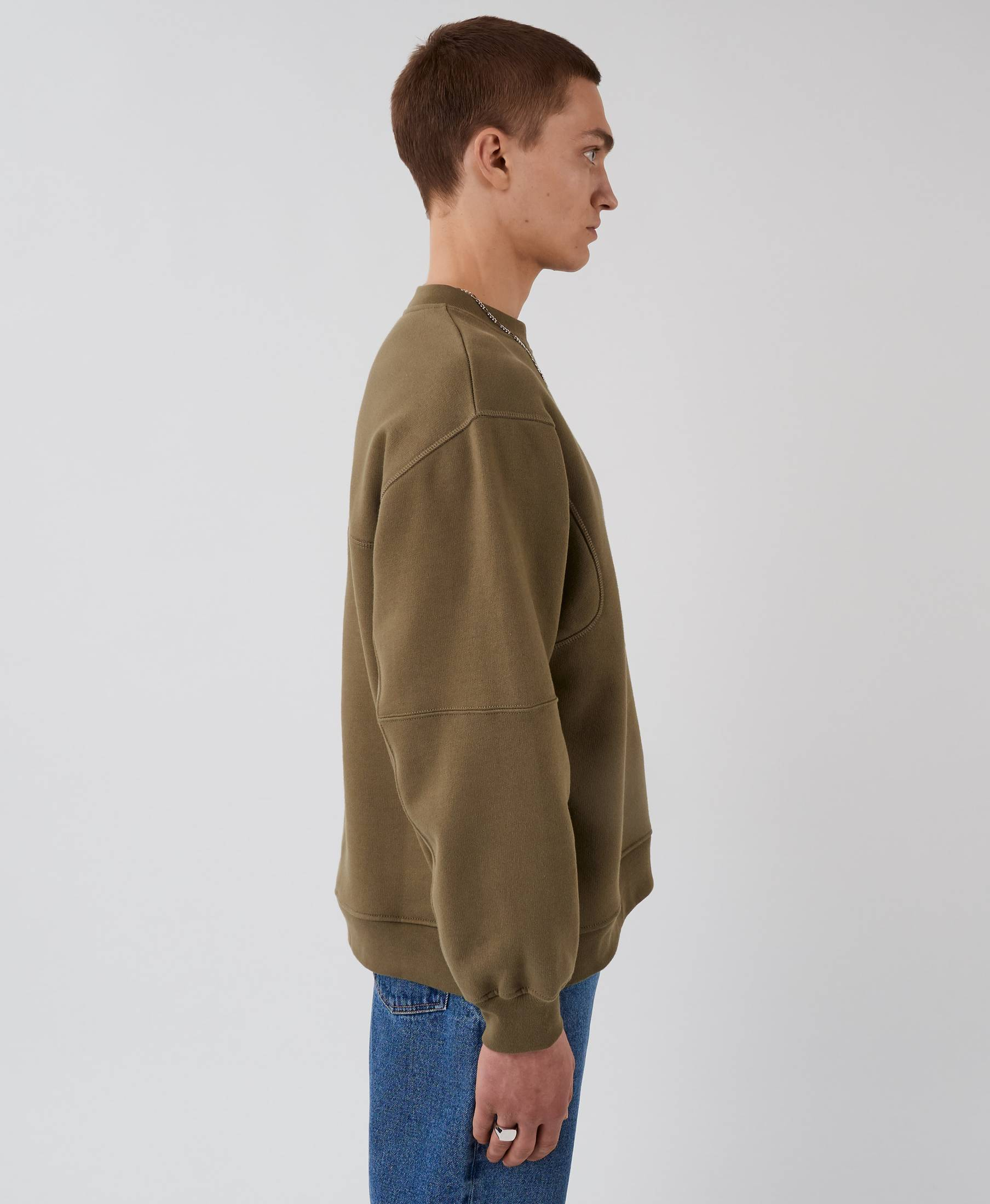 The Waves Sweater Olive