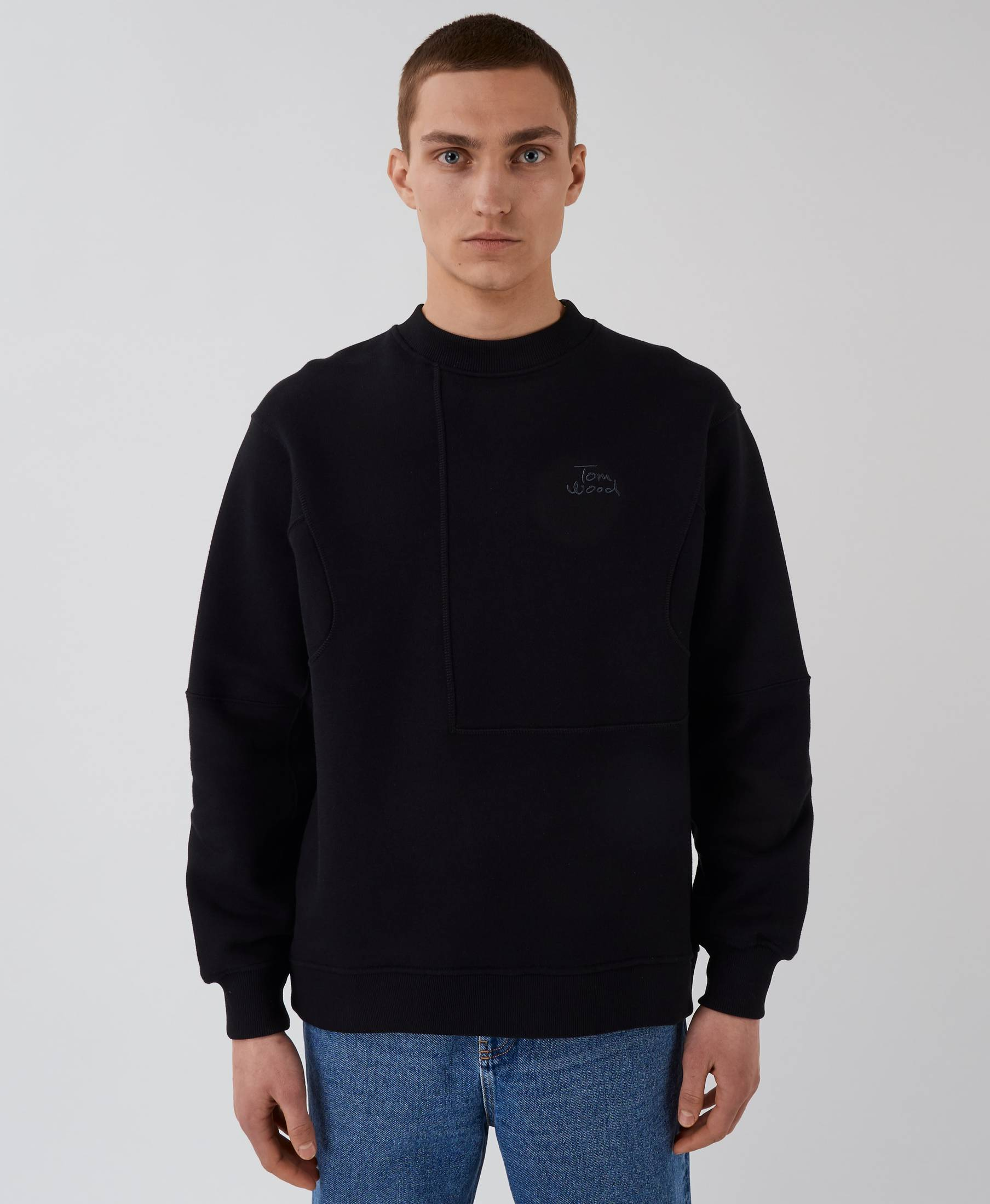 The Waves Sweater Pistol Black