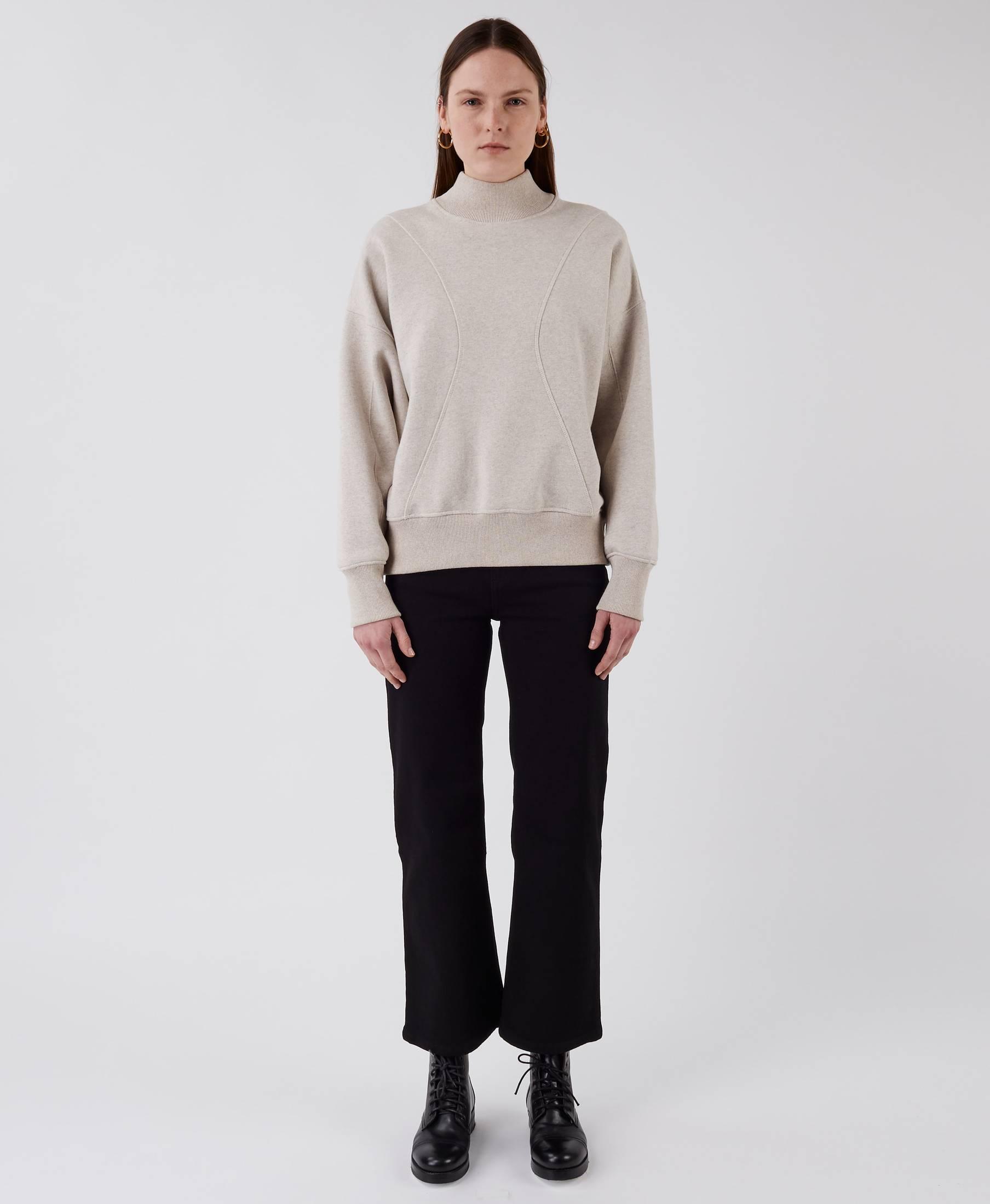 The Wind Sweater Beige Melange