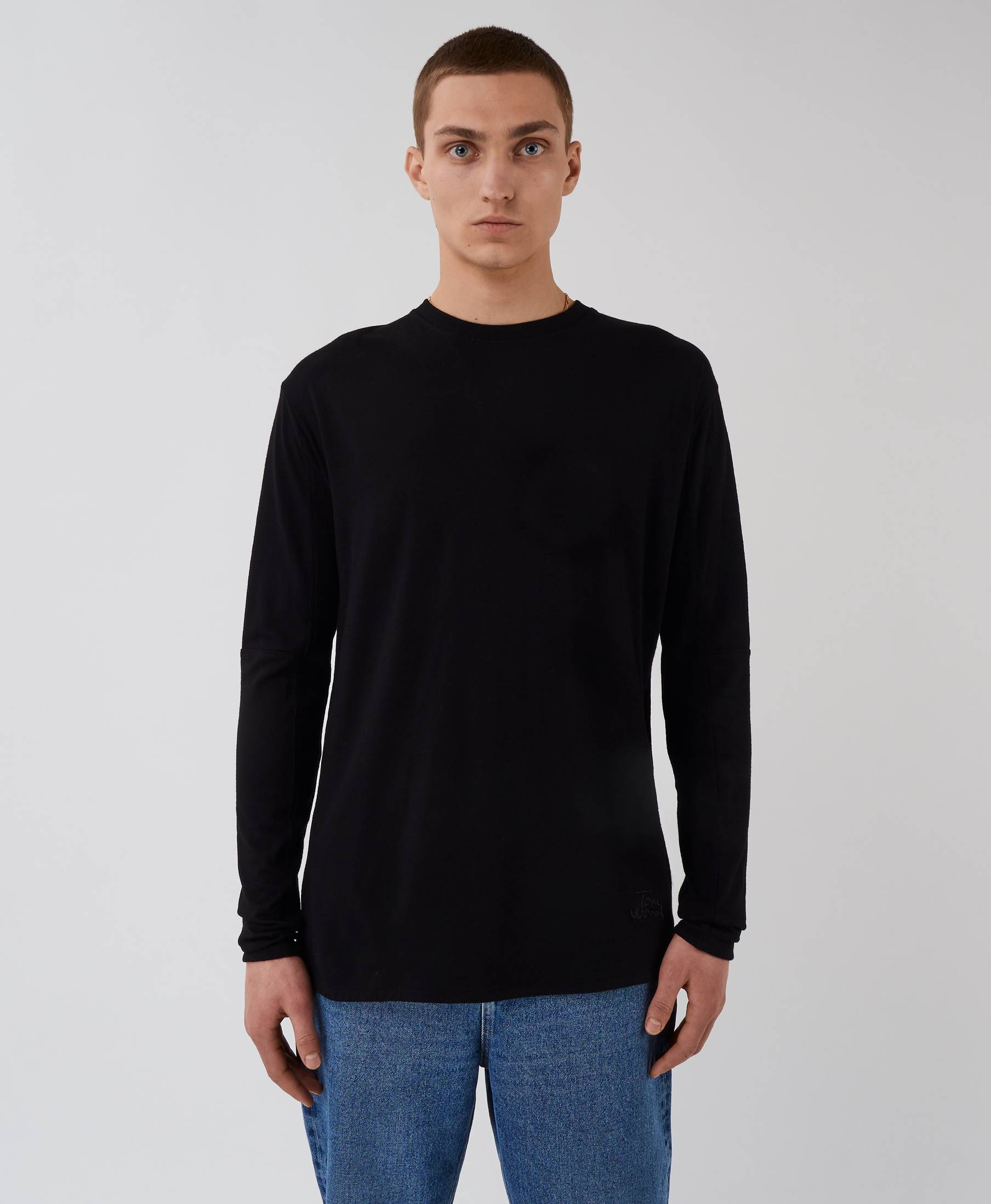 Timeless Long Sleeve Pistol Black