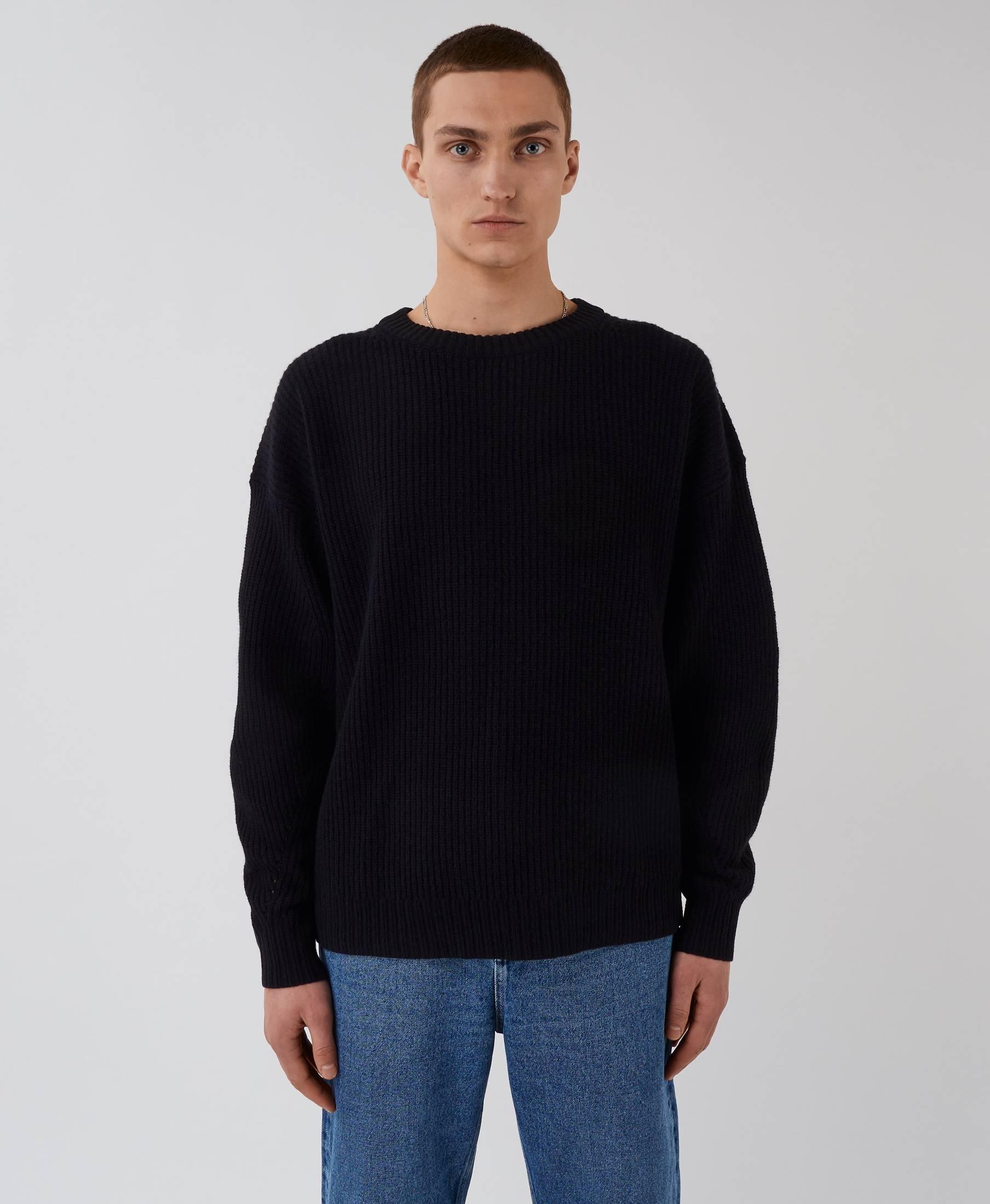 Kelvin Sweater Pistol Black