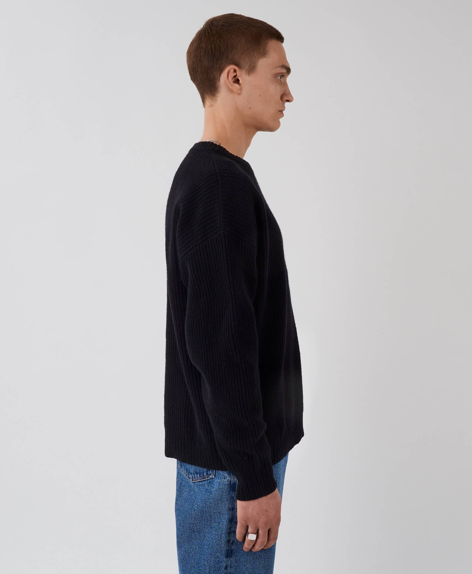 Kelvin Sweater Pistol Black
