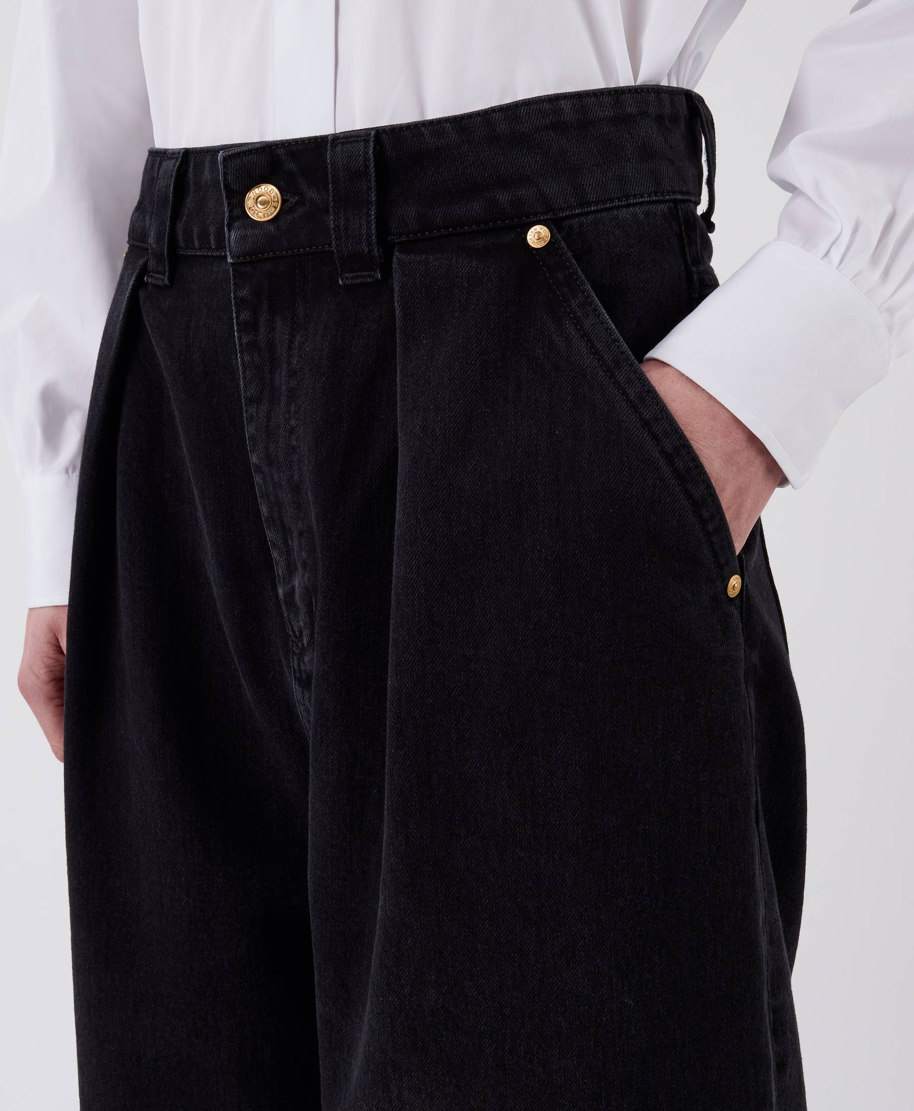 Vanessa Denim Pants Used Black