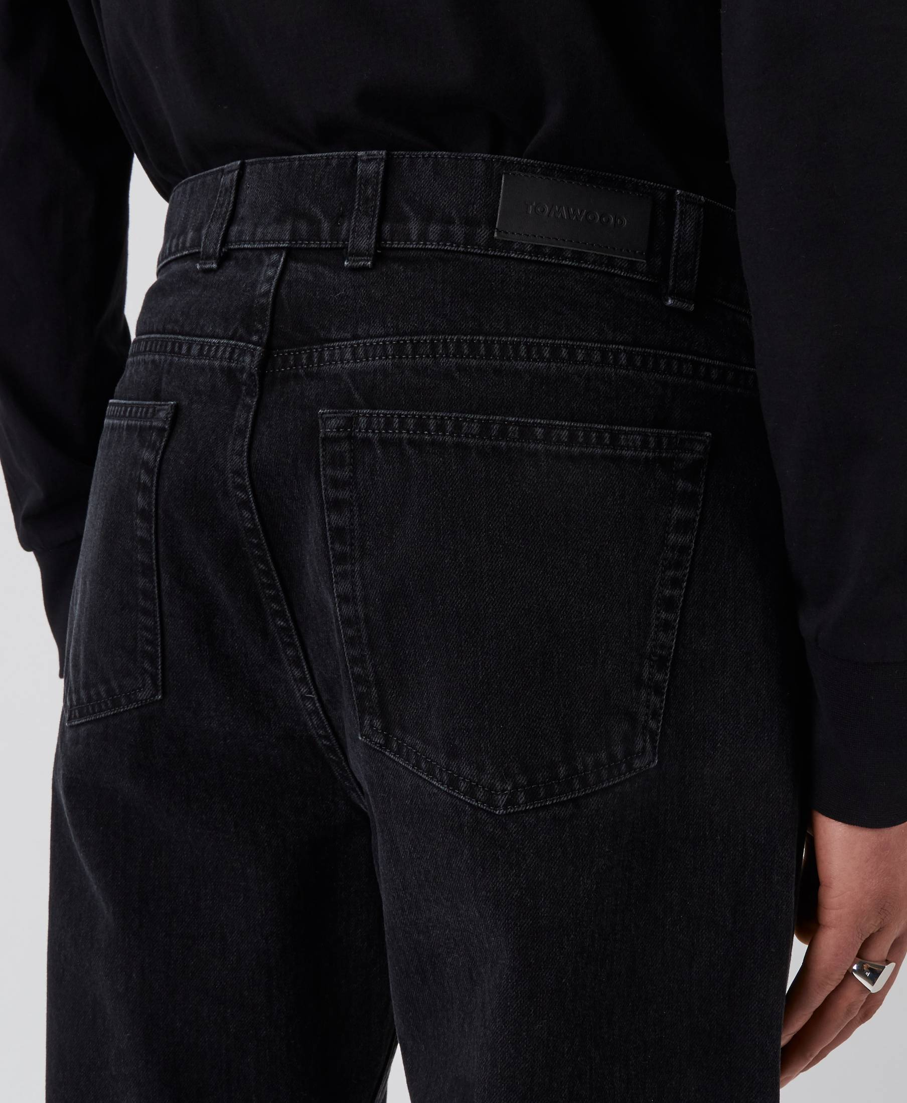 Sting Denim Pants Used Black