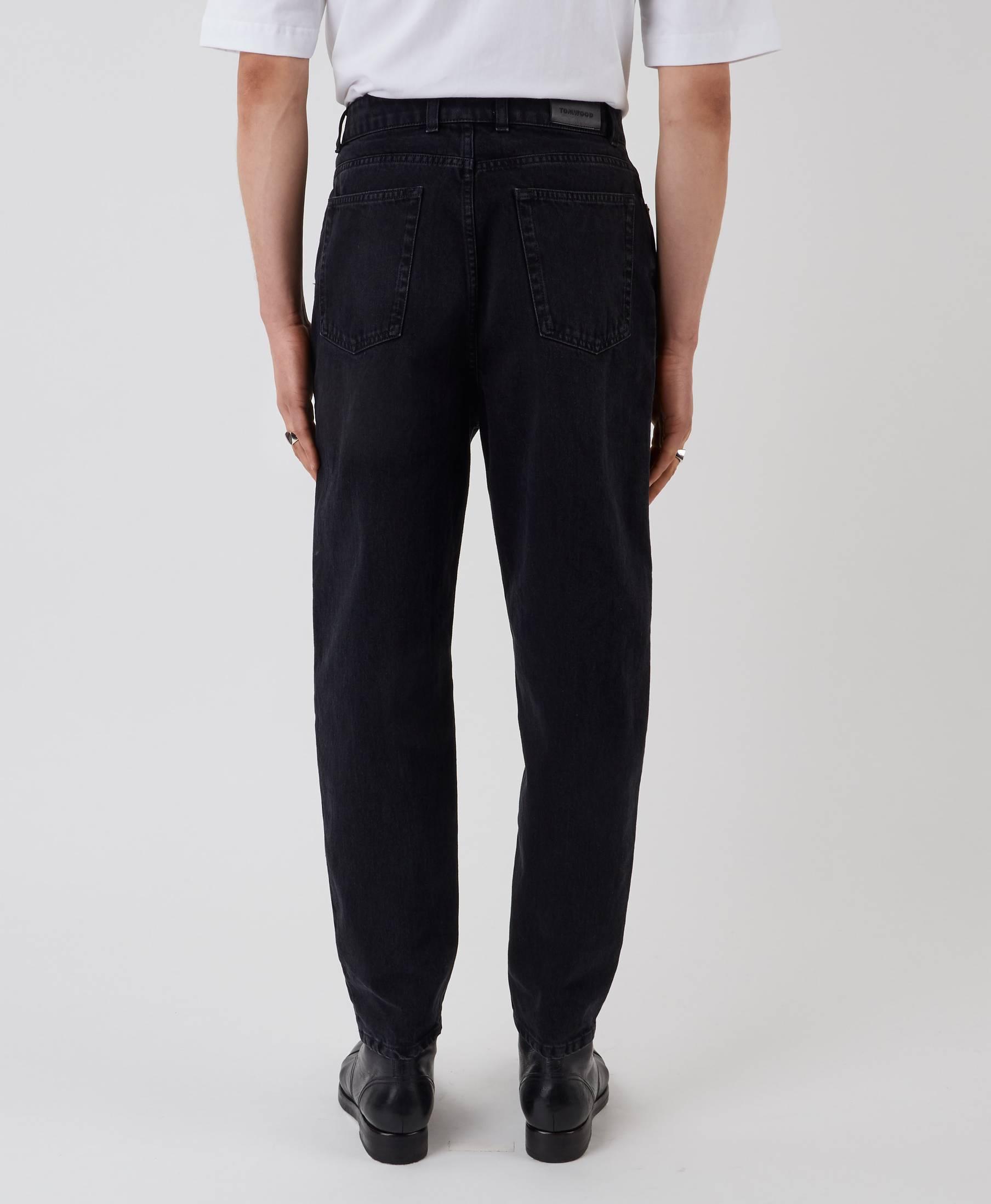 Park Denim Pants Used Black