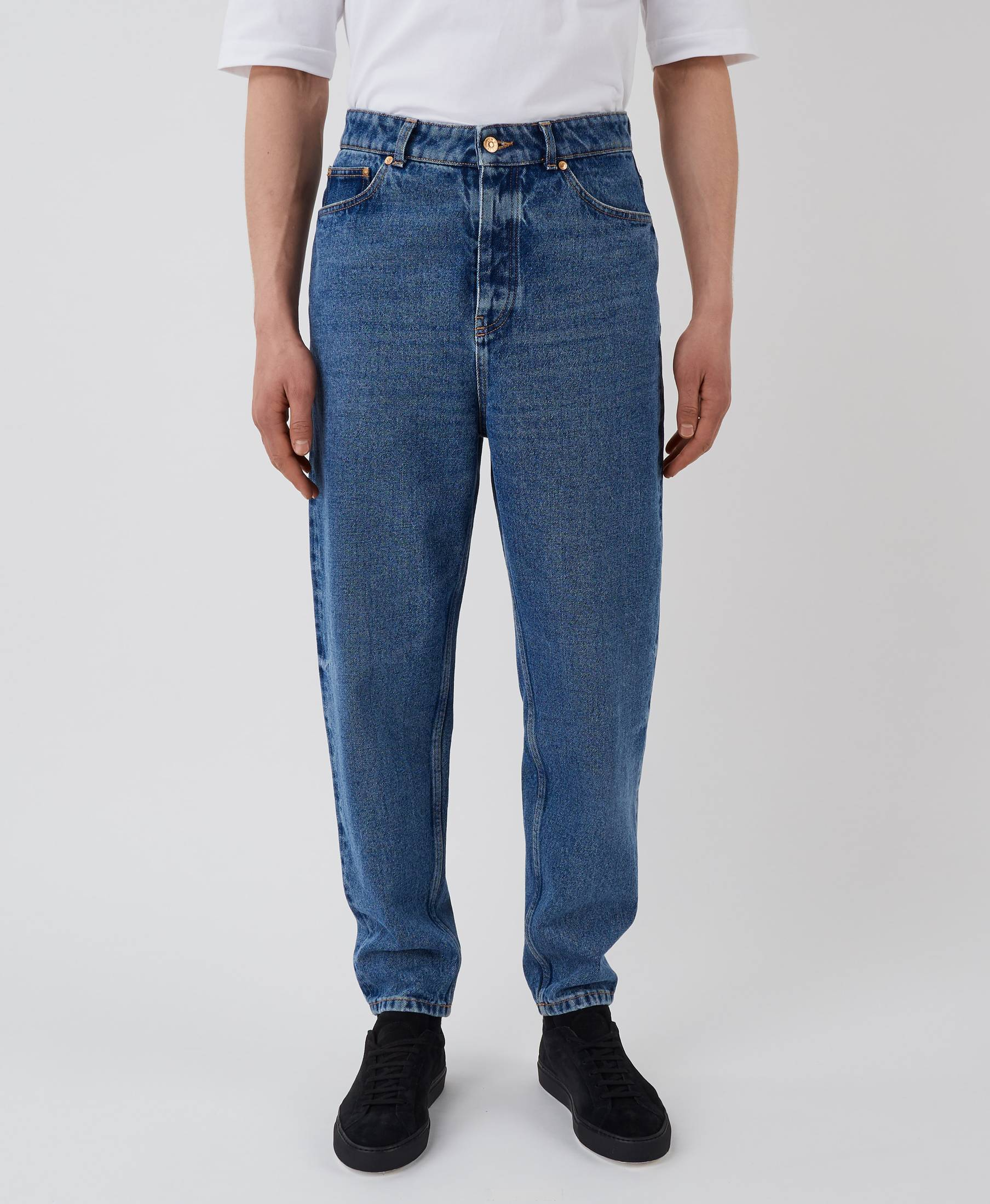 Park Denim Pants Nice Blue