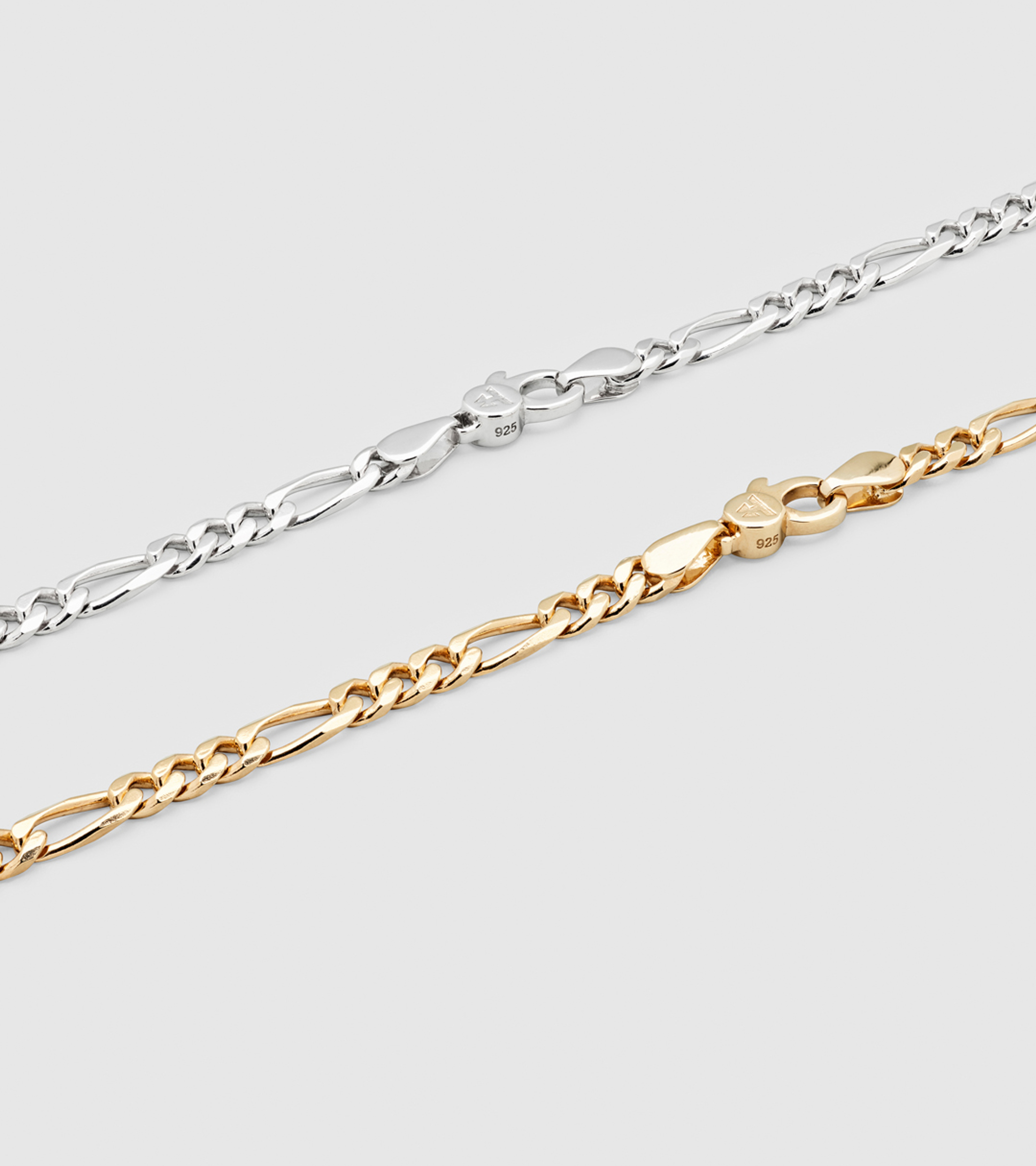 Figaro Bracelet Thick Gold