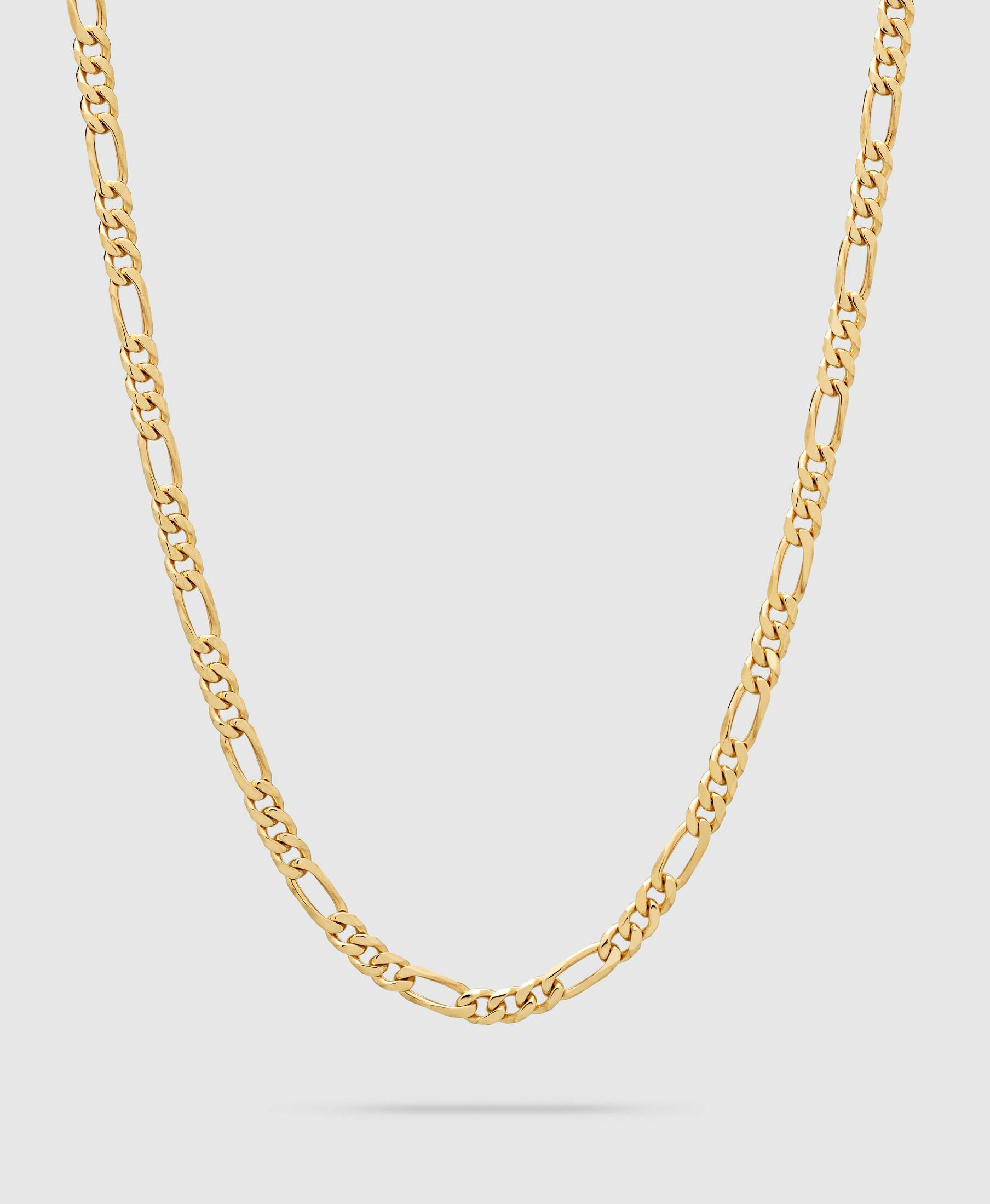 Figaro Chain Thick Gold