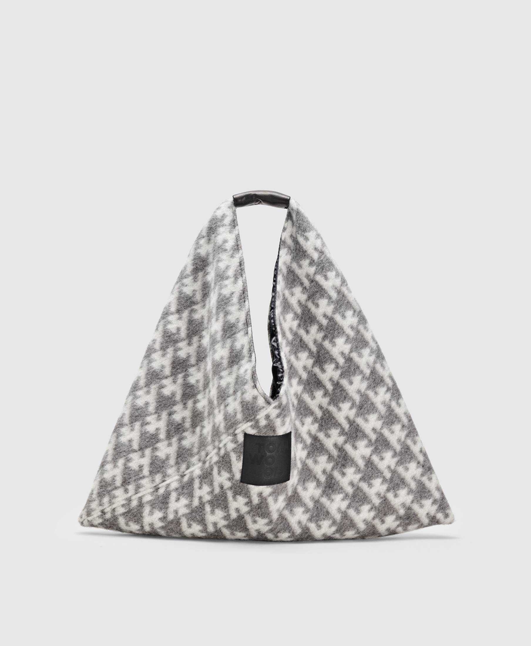 Triangle Bag Logo Grey