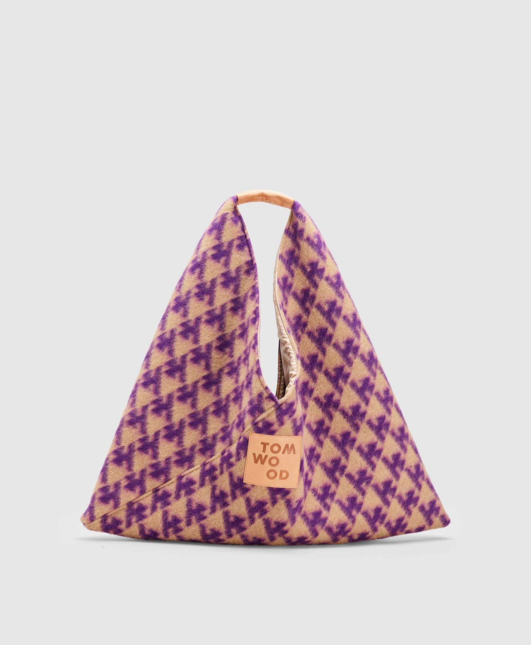 Triangle Bag Logo Purple