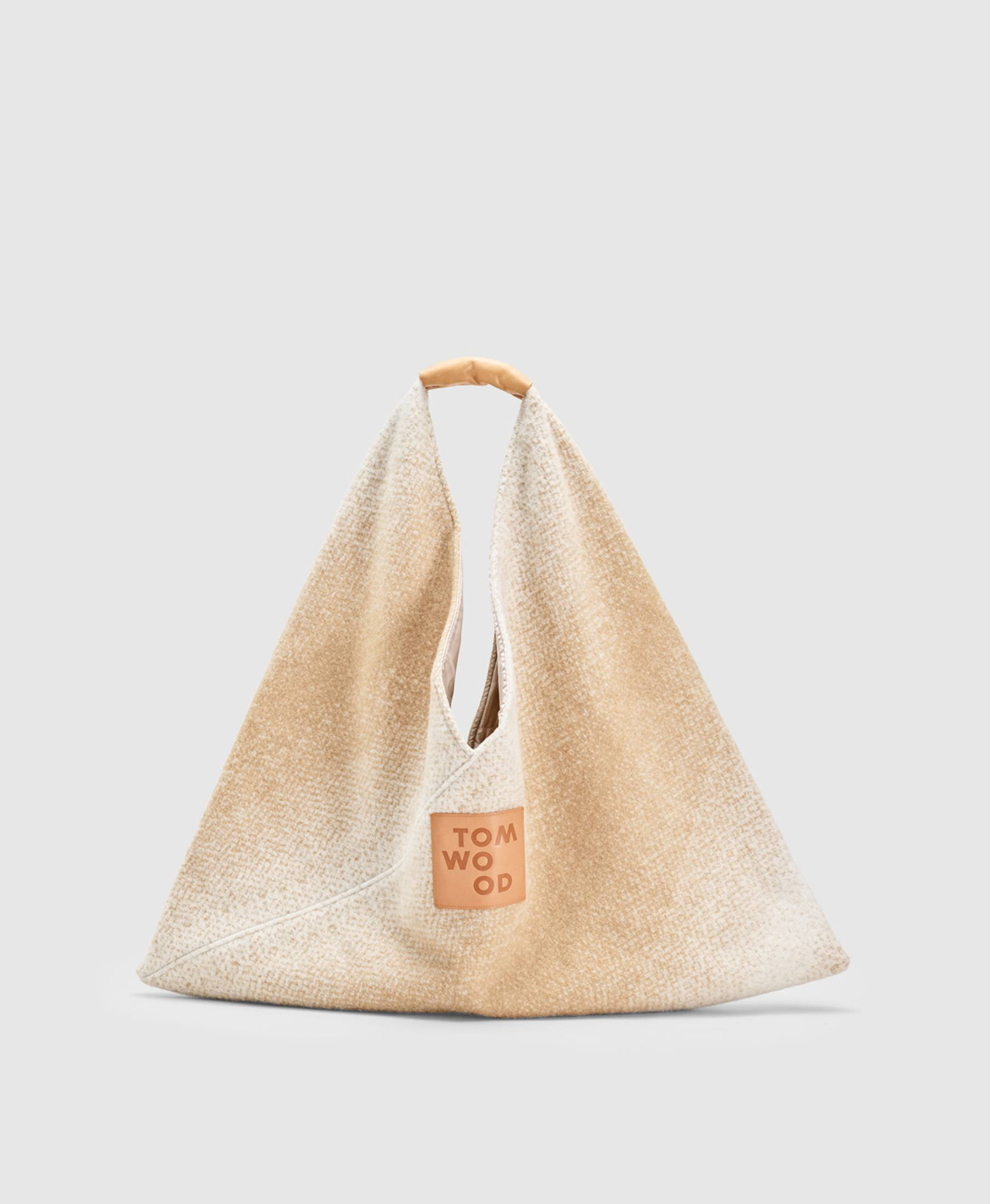 Triangle Bag Gradient Champagne