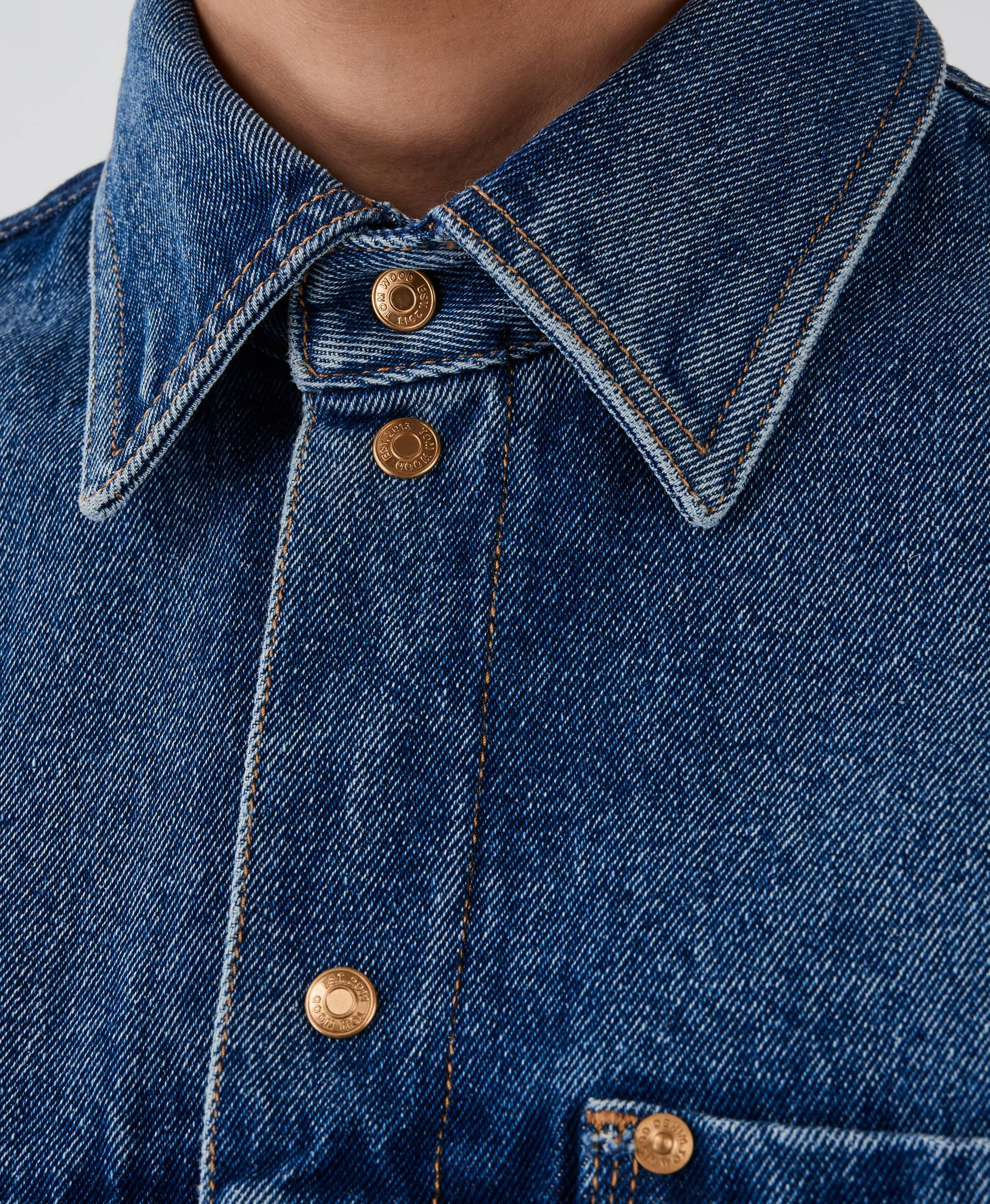 Coby Denim Shirt Nice Blue