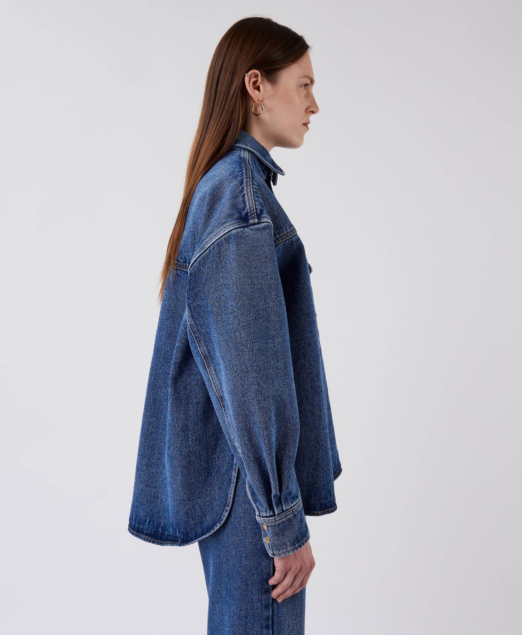 Stella Denim Shirt Nice Blue