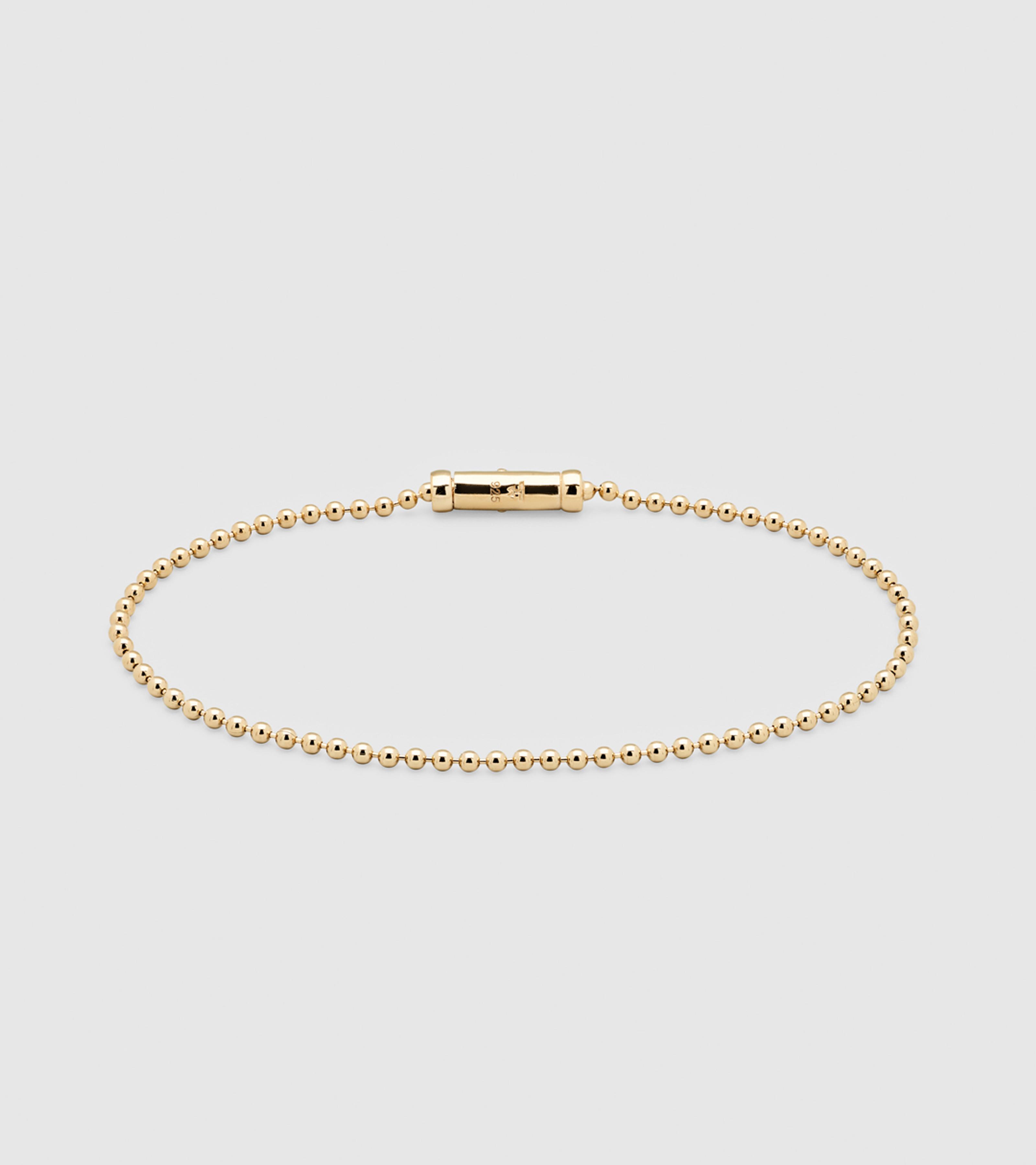 Ball Bracelet Gold