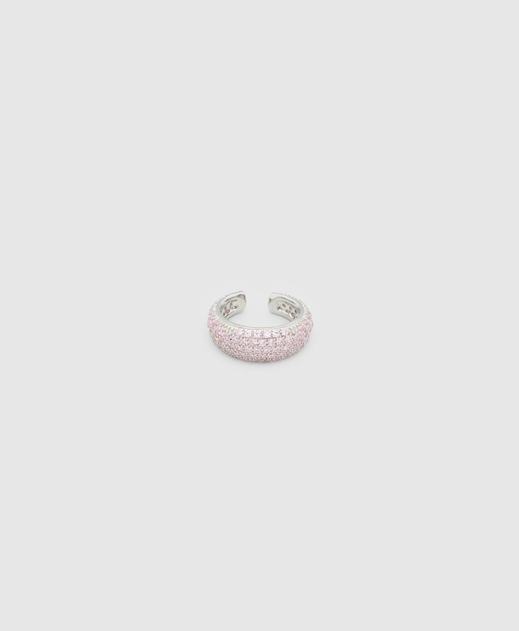 Ear Cuff Thick Pink