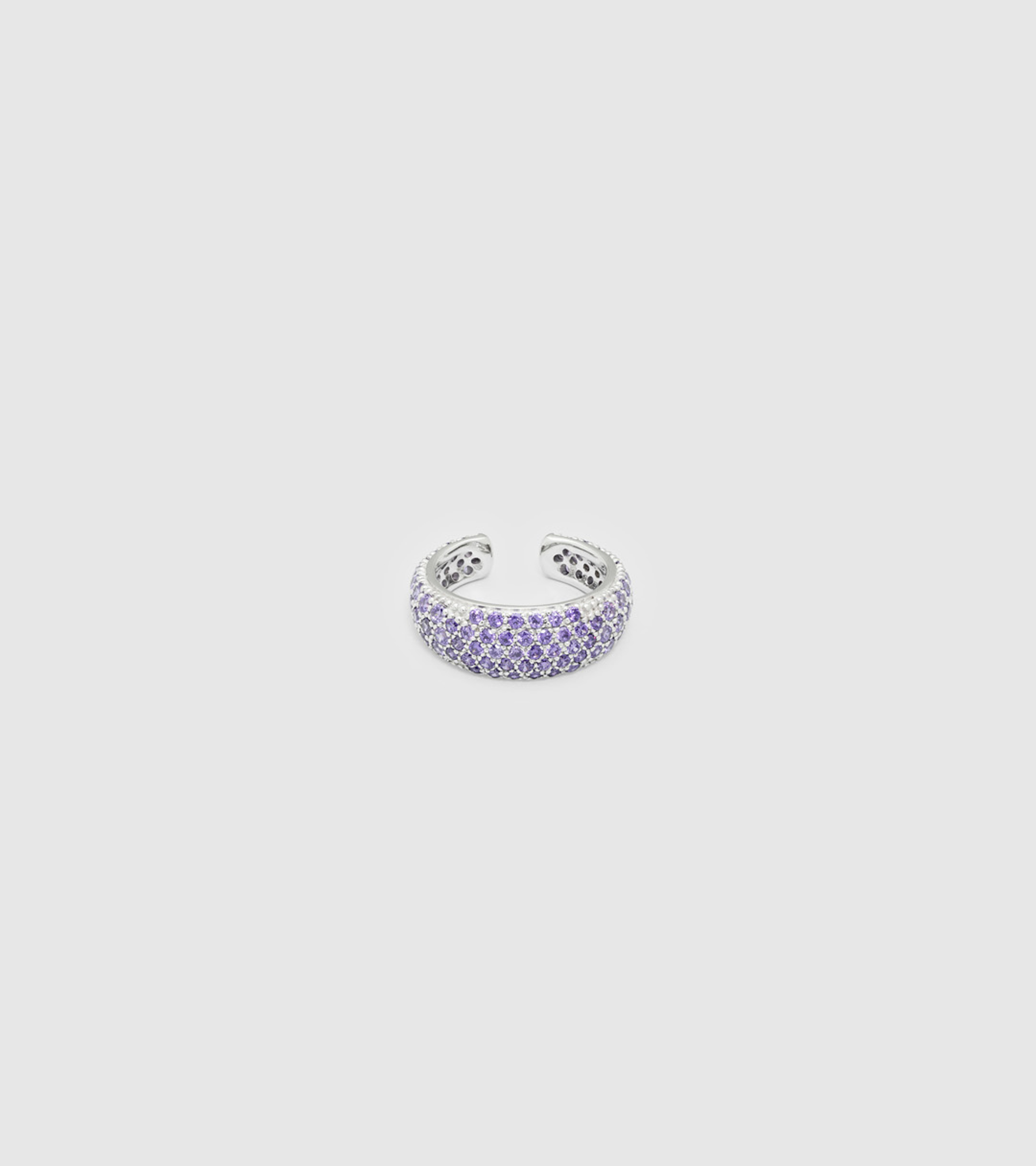 Ear Cuff Thick Violet