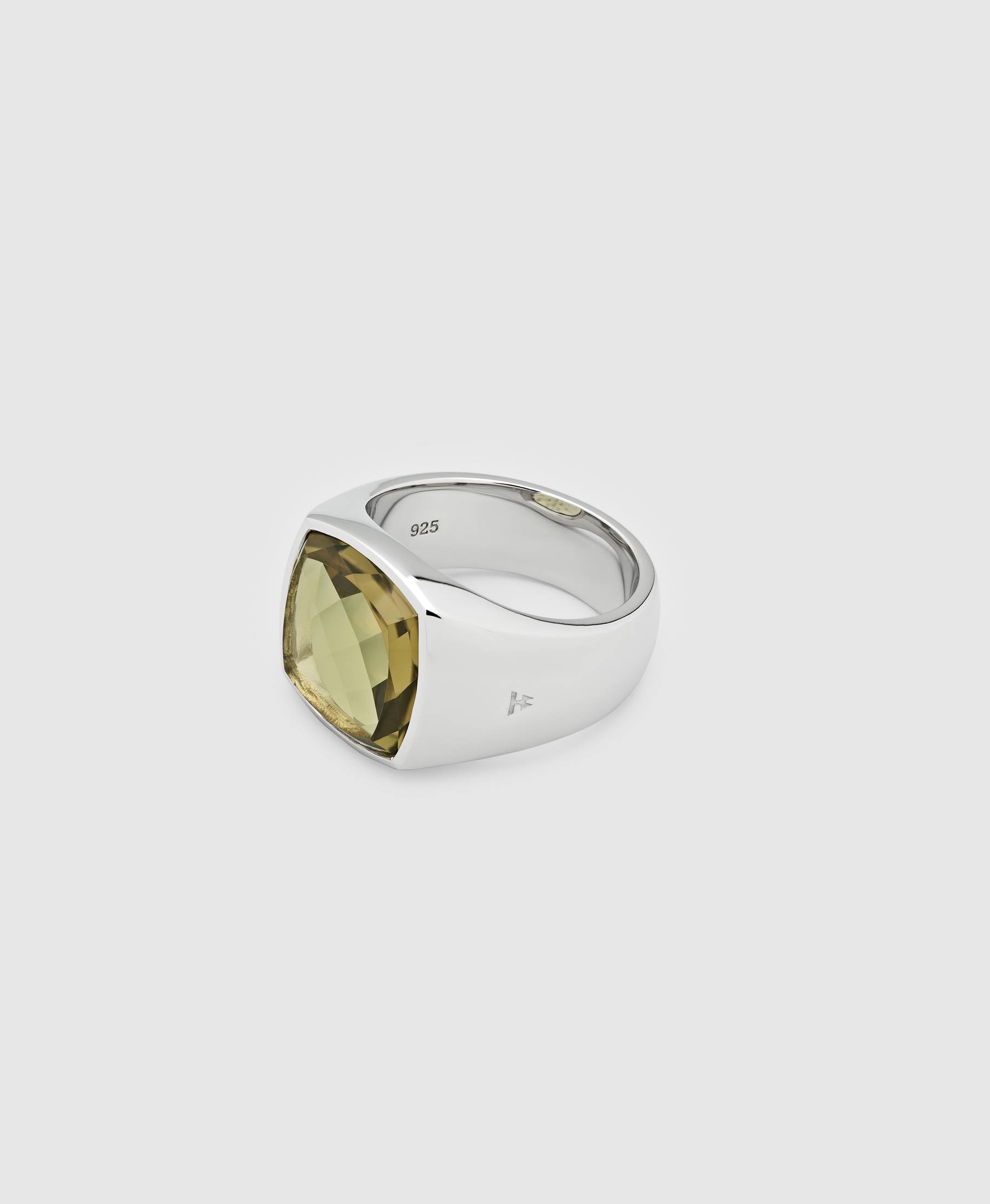 Shelby Ring Olive Quartz