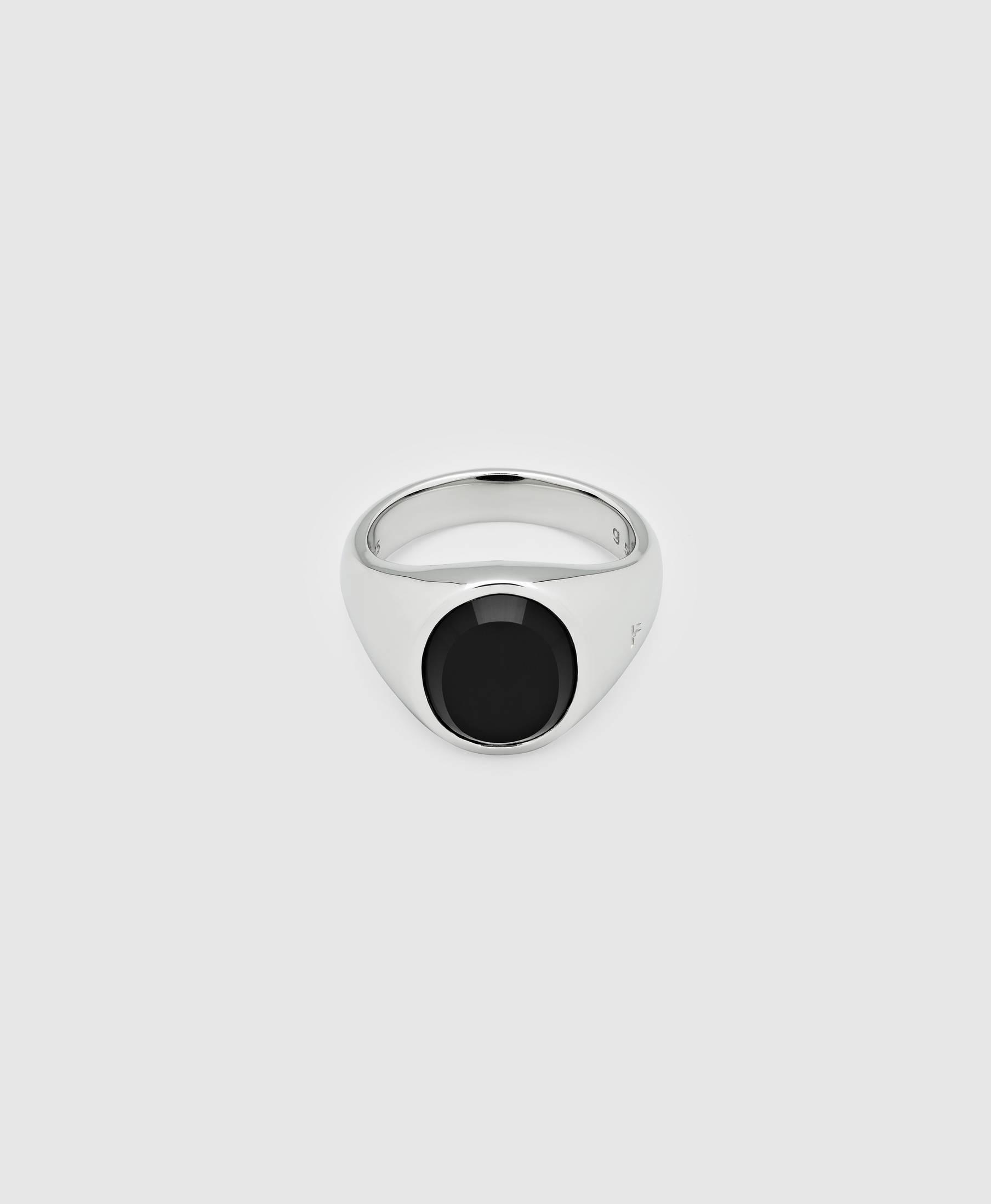 Lizzie Ring Polished Onyx