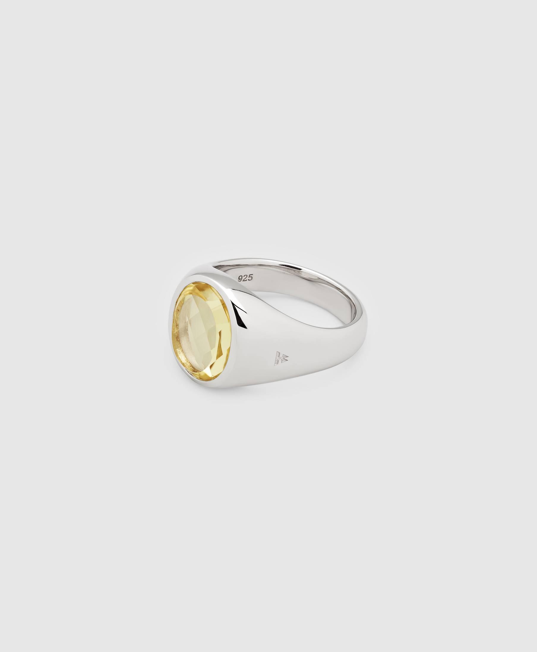 Lizzie Ring Lemon Quartz